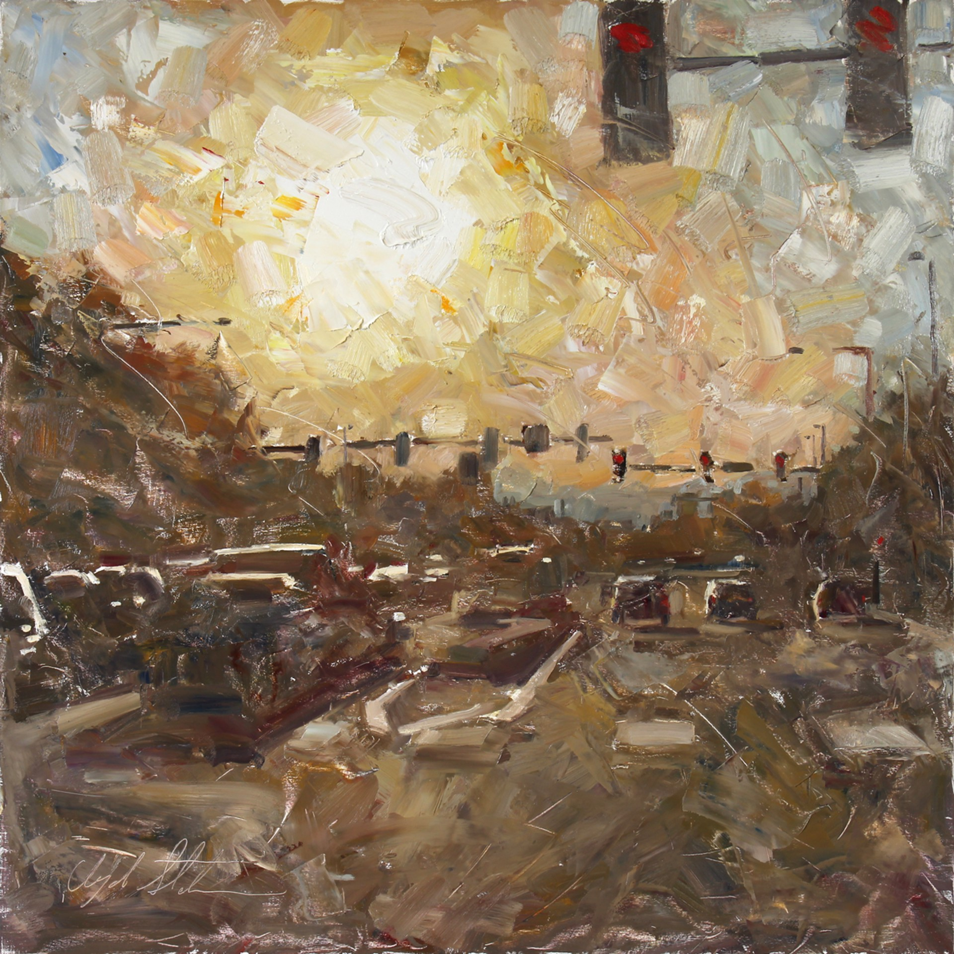 Early Evening by Clyde Steadman