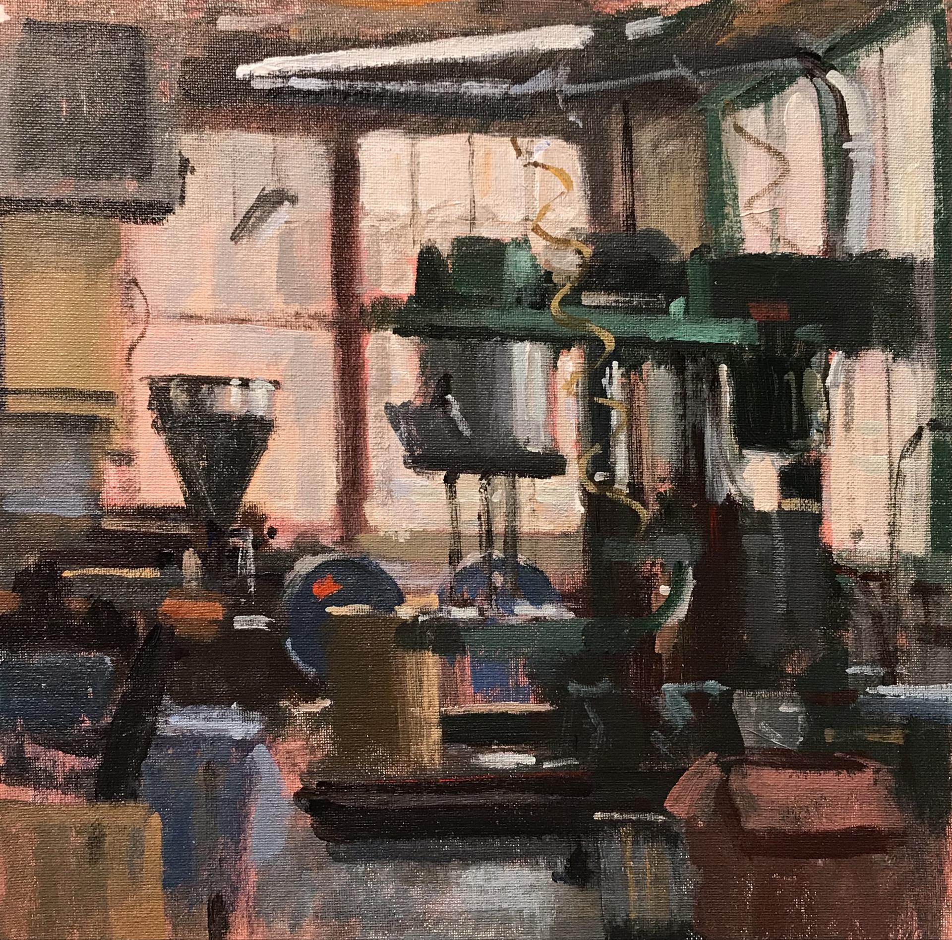 Brooklyn Paint Factory  by Joe Gyurcsak