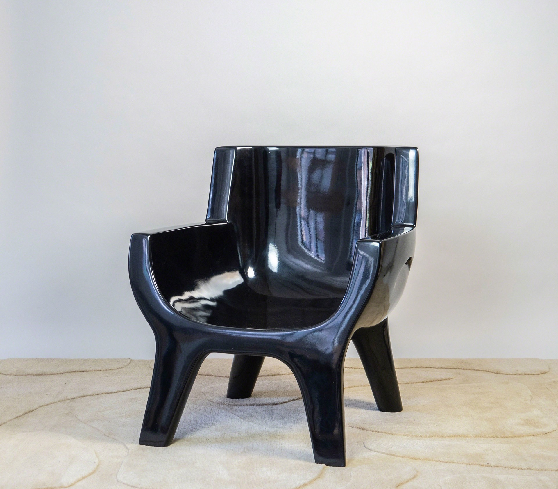 """Aubrac"" Armchair by Jacques Jarrige"