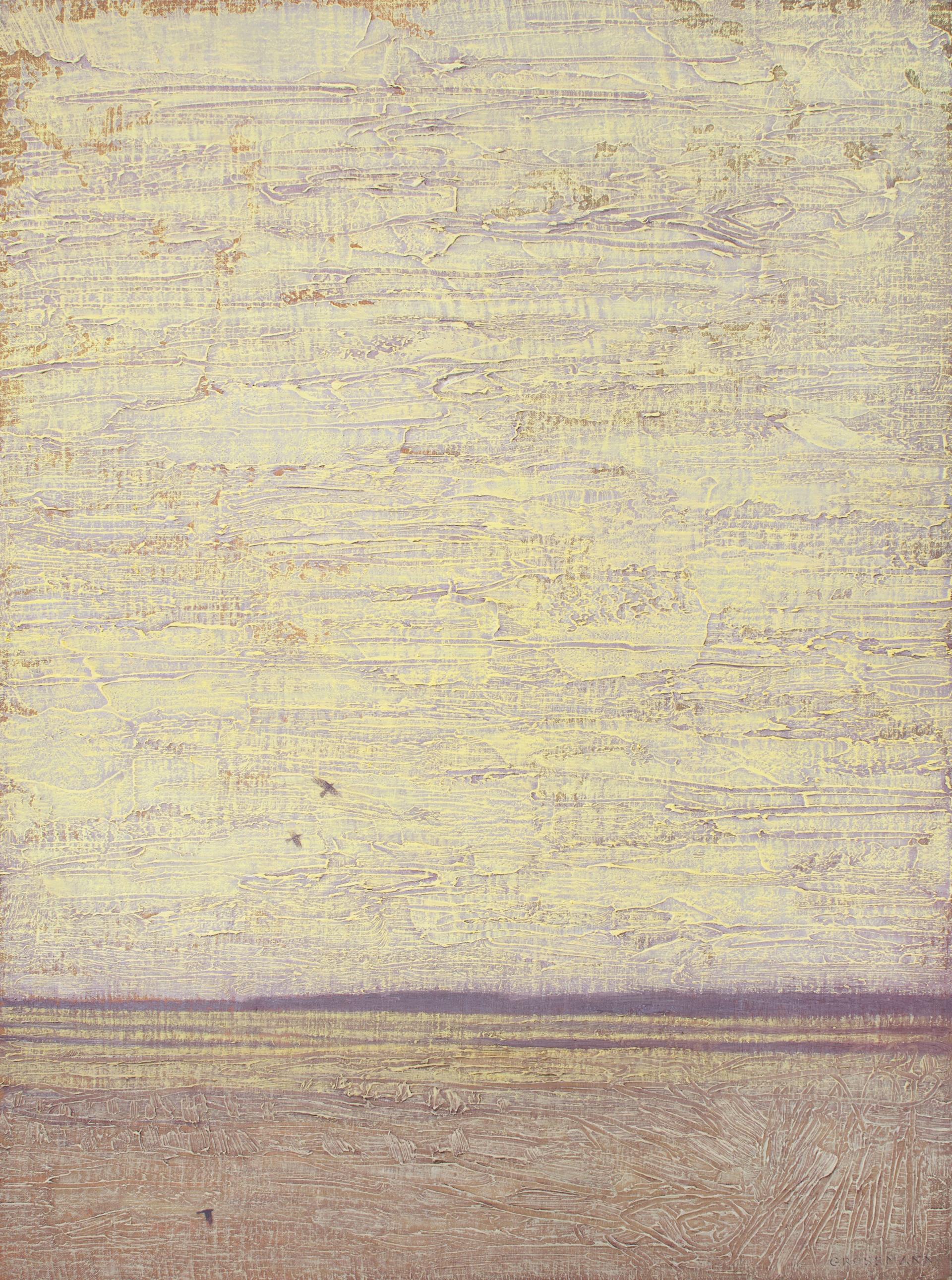 Flight on Textured Sky by David Grossmann