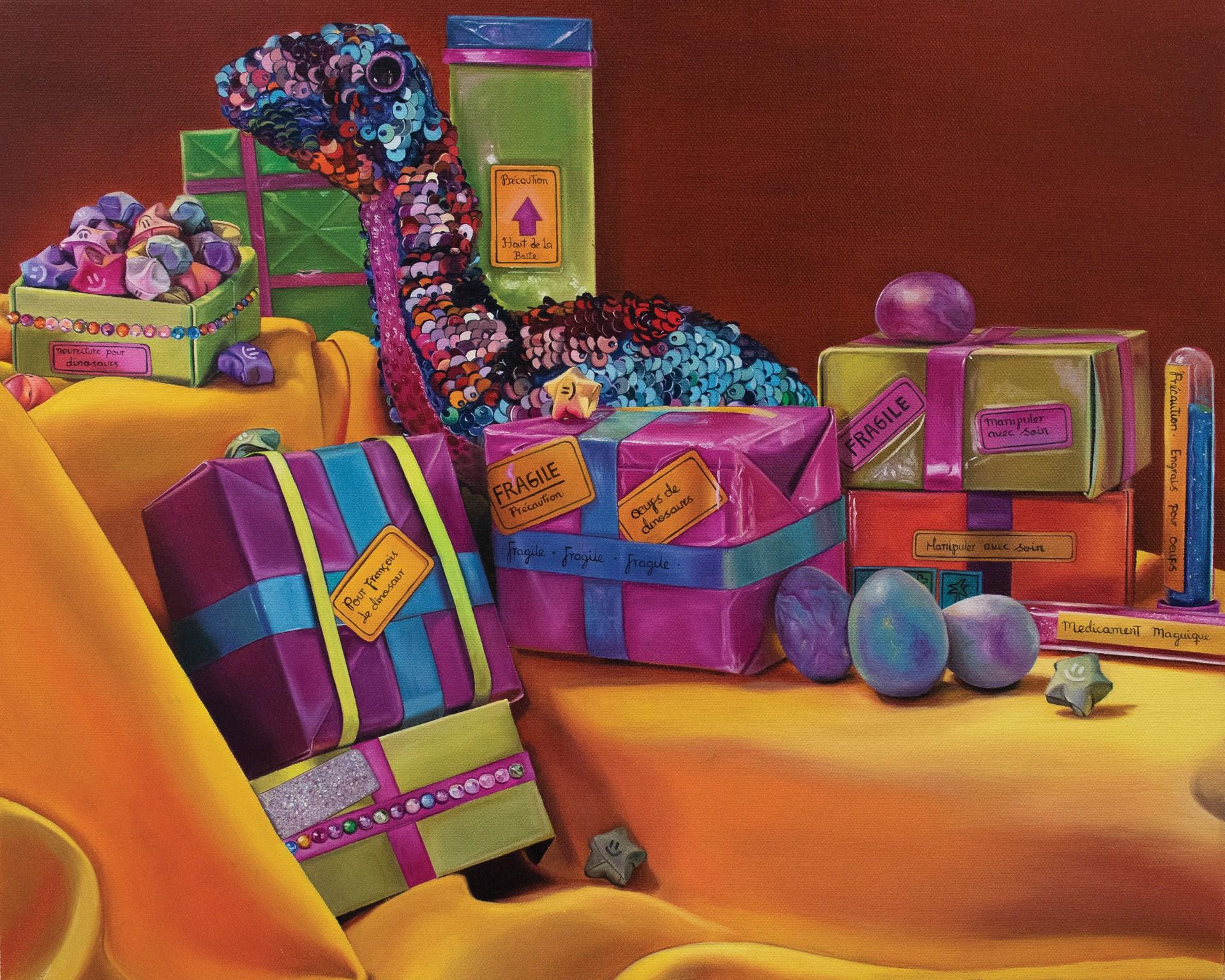 Cadeaux Pourle Dinosaure by Daniela Velez