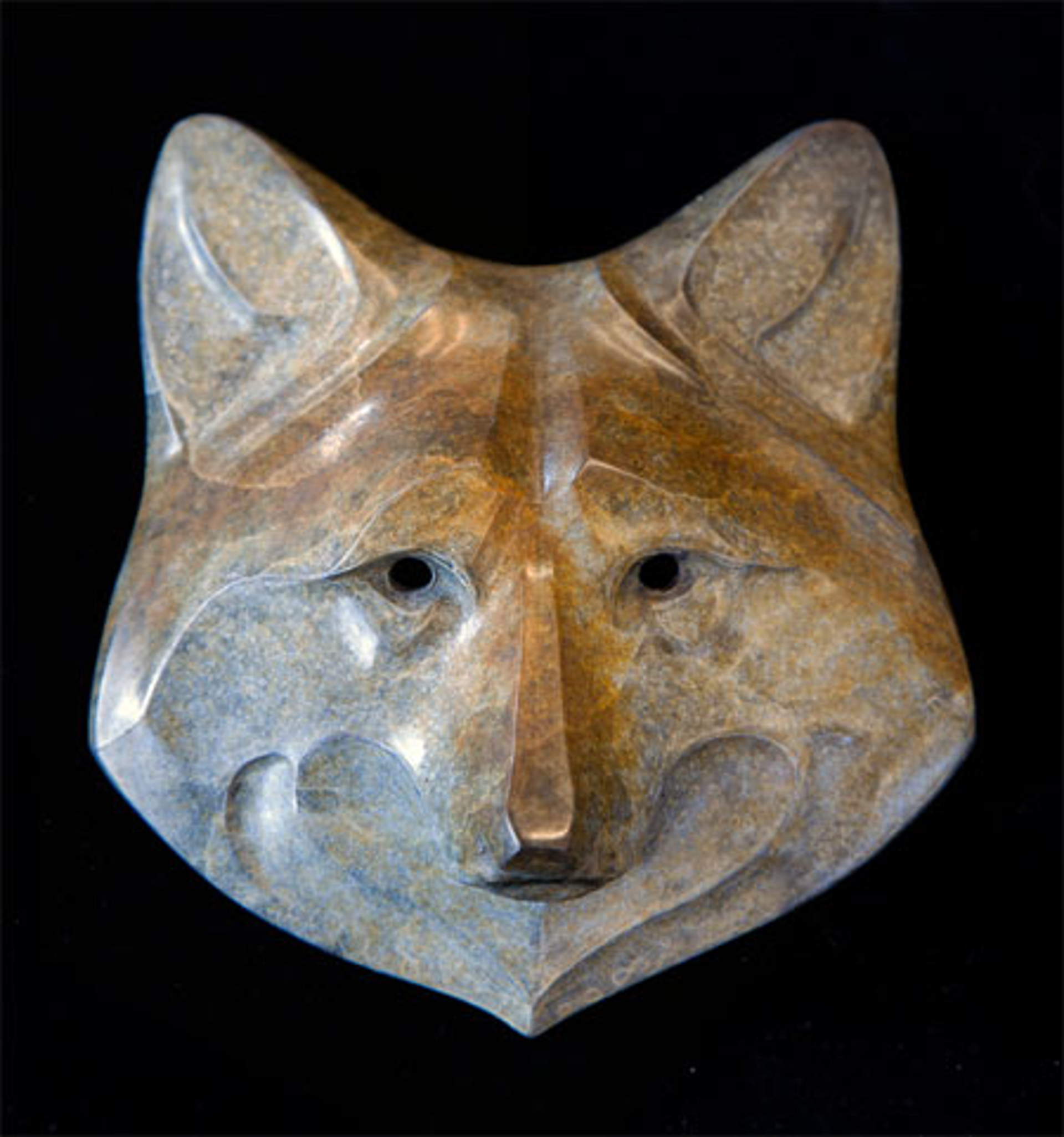 Wolf Mask Maquette by Rosetta