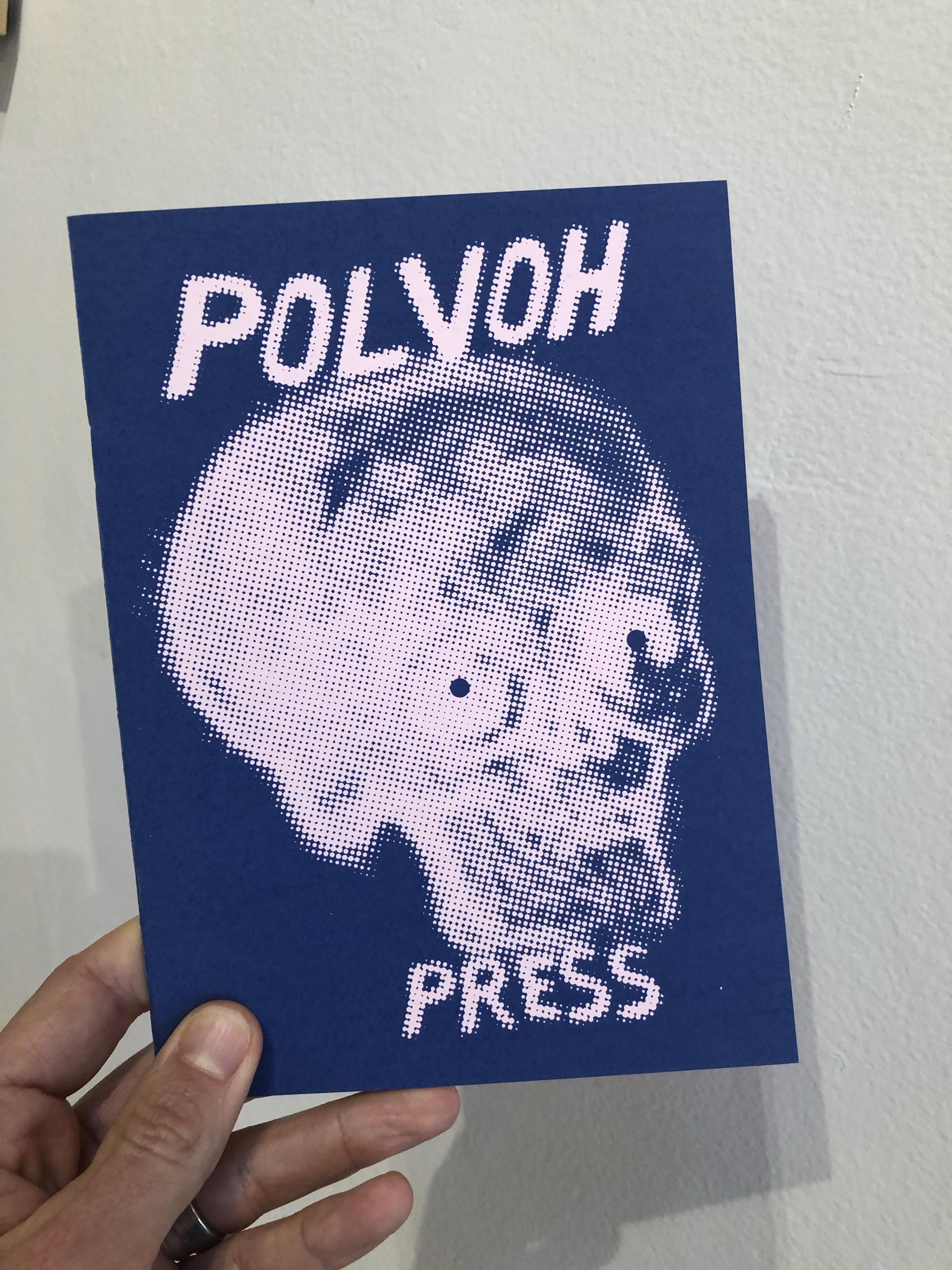 Polvoh Azul by Polvoh Press