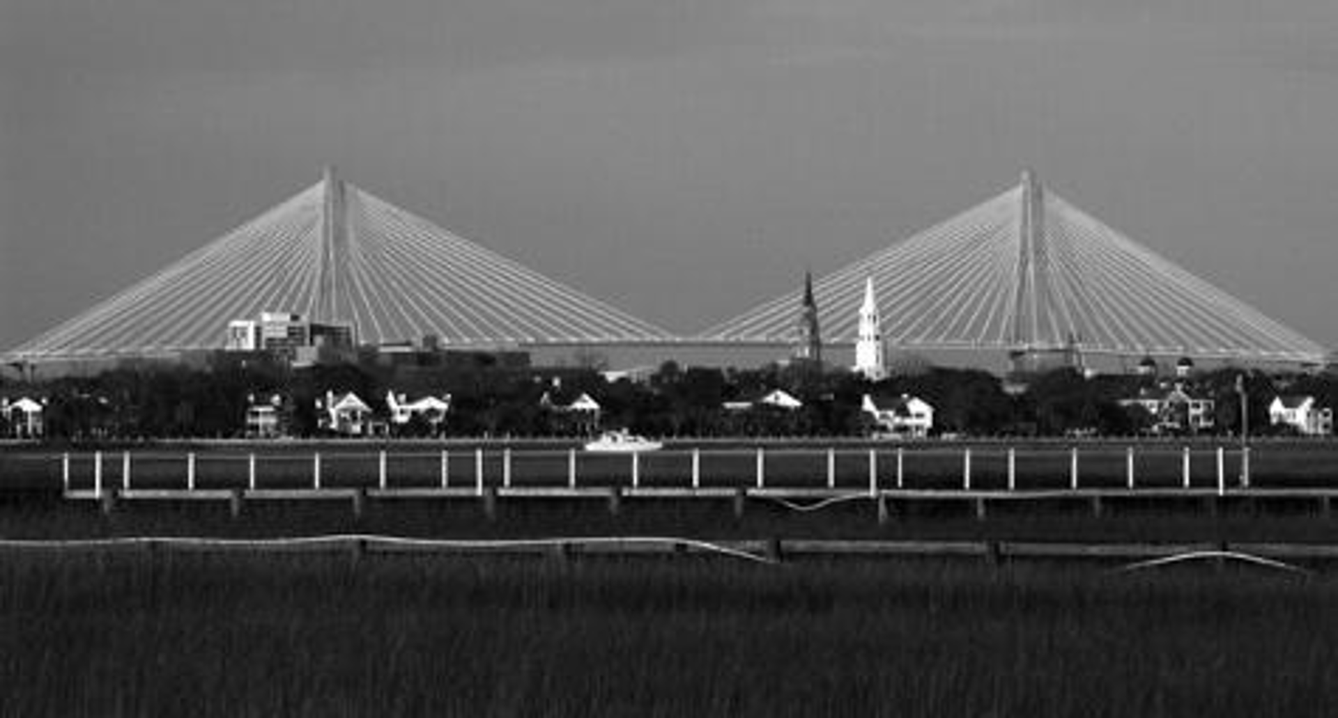 Steeples and Spires, Charleston by Ron Rocz