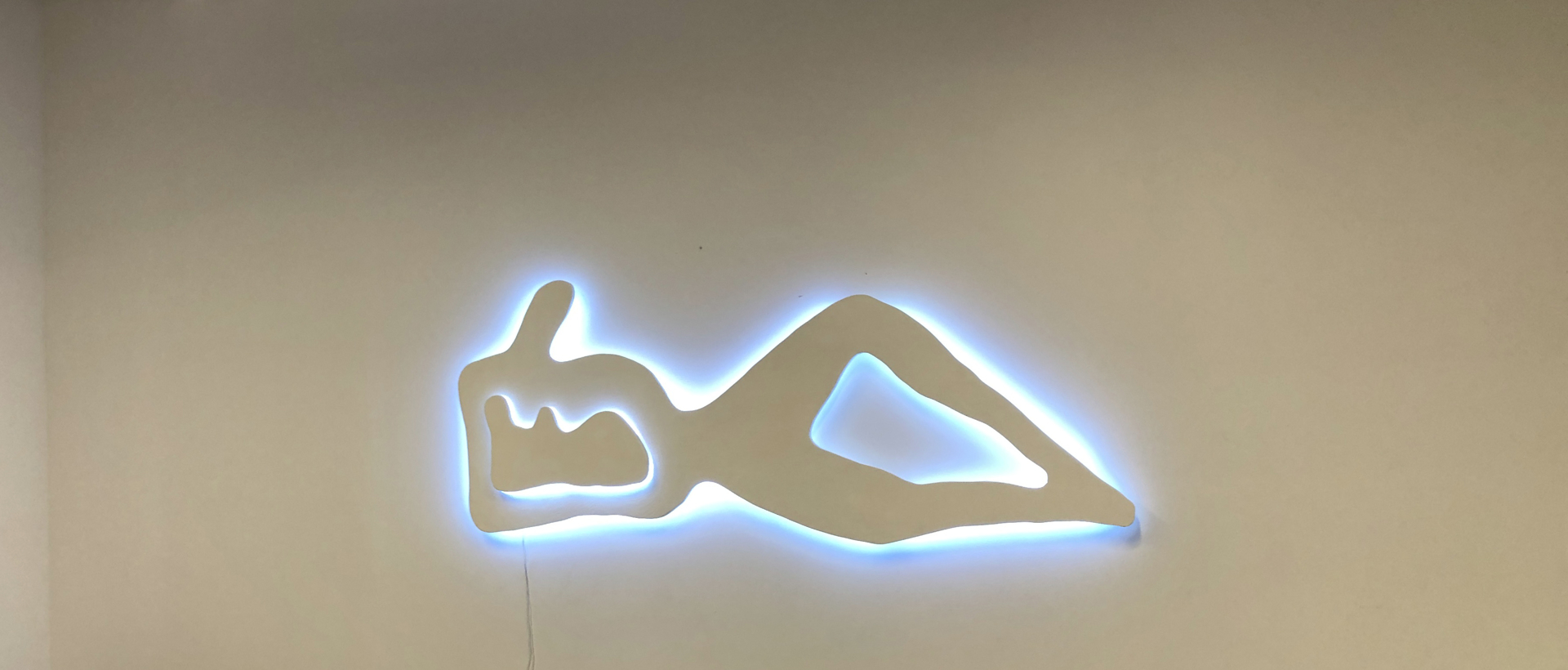 Reclining Figure with Light by Jacques Jarrige