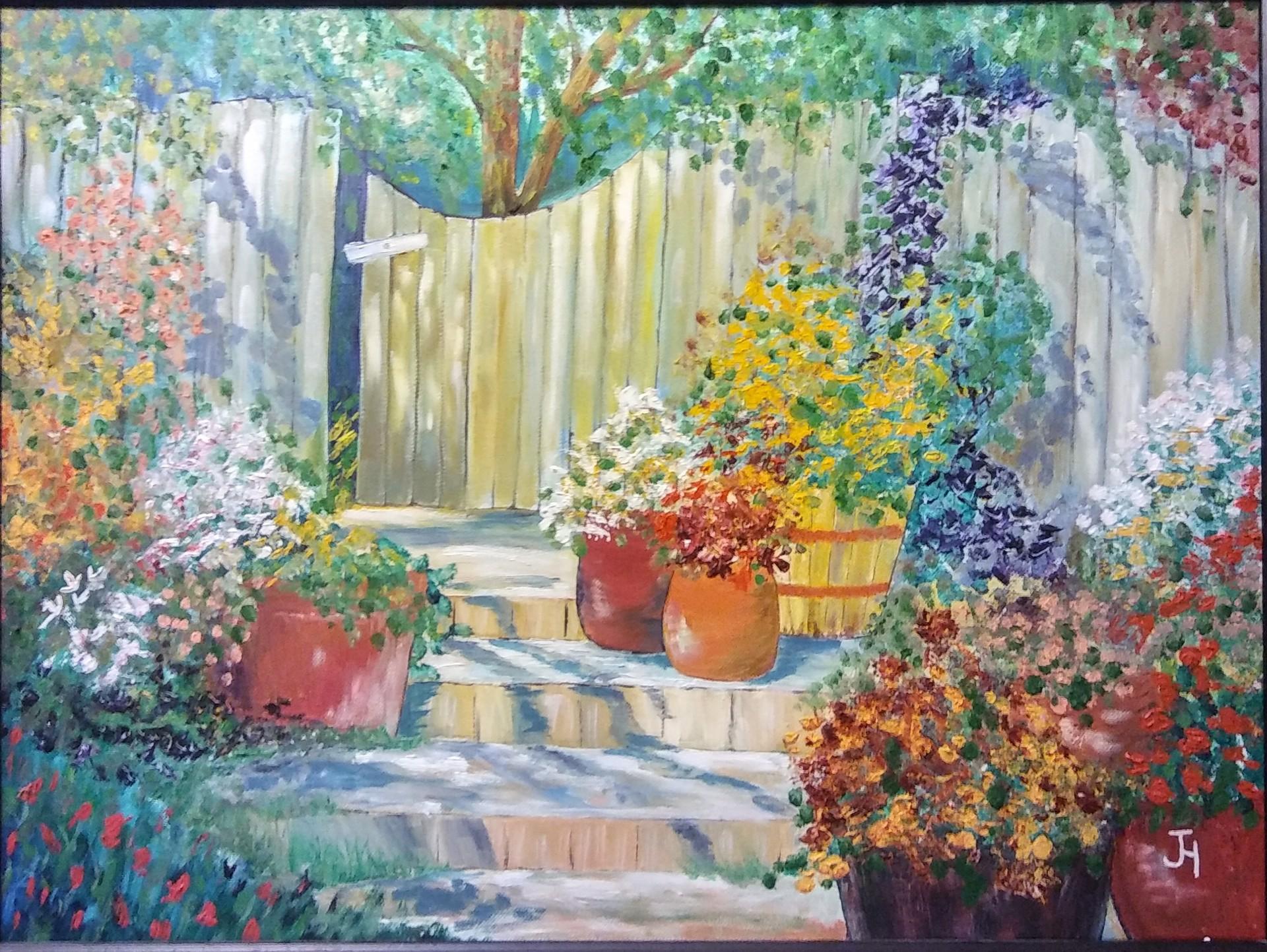 Secret Garden by June Hormel (Newberg, OR)