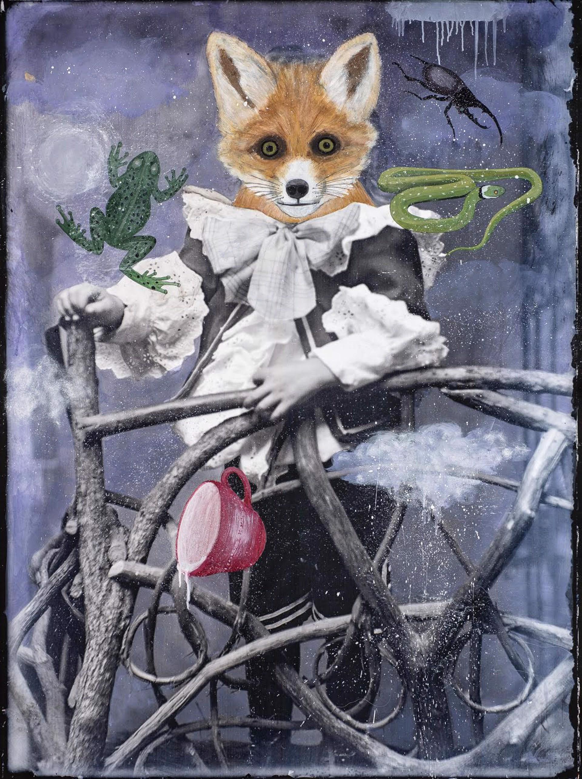 Fox Divining by Alexandra Eldridge