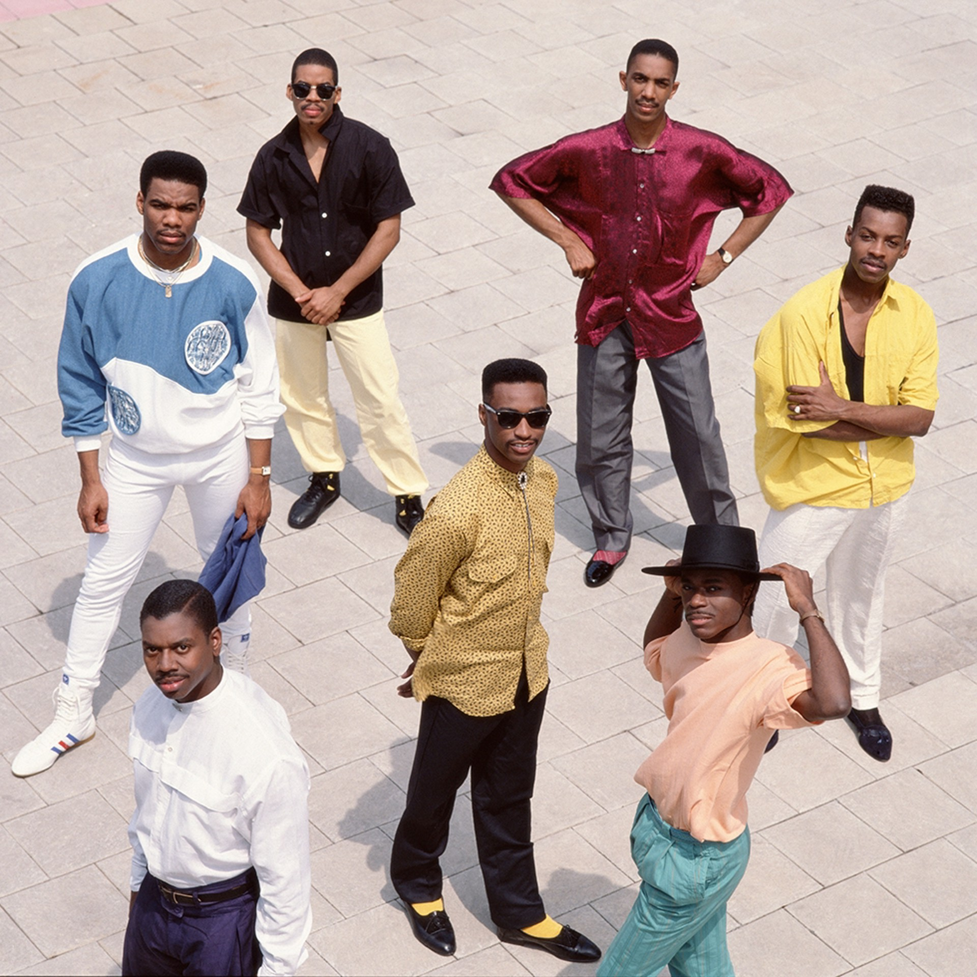 88081 Kool and the Gang Group Standing Color by Timothy White