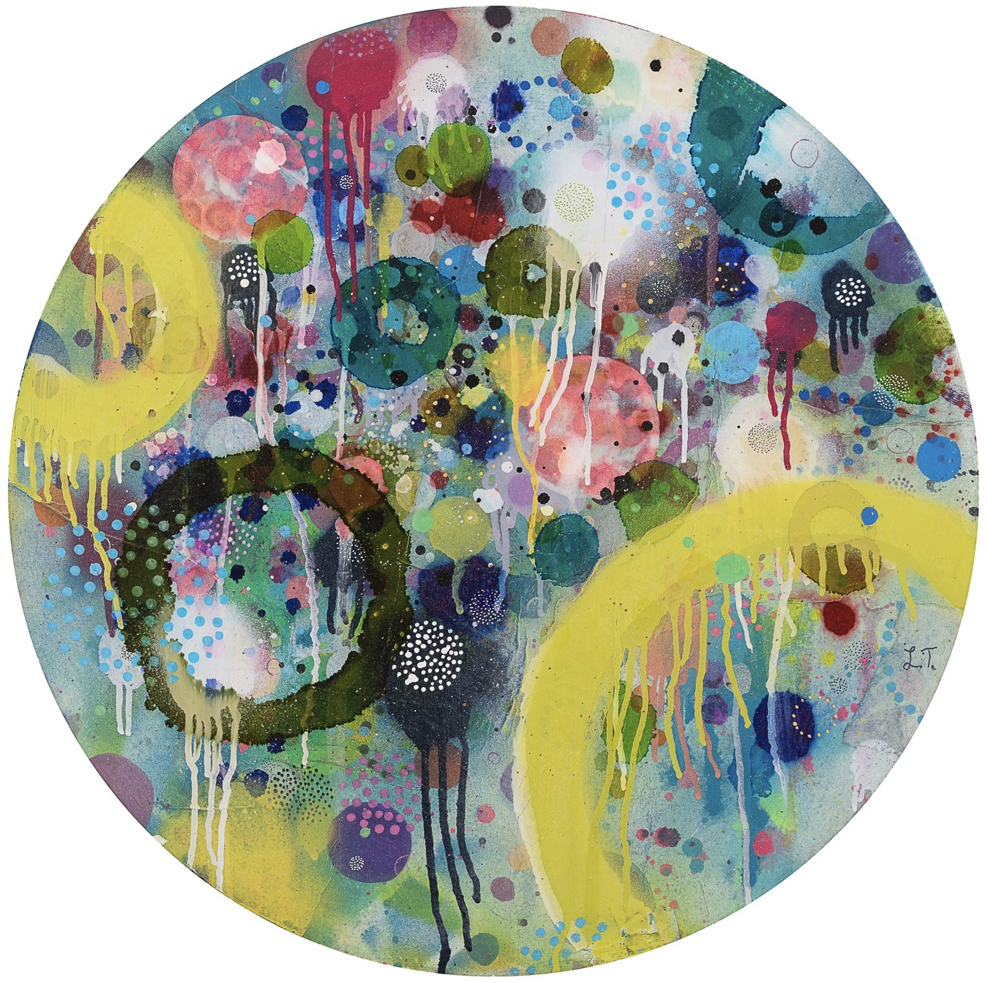 Cosmic Circle 1 by Liz Tran