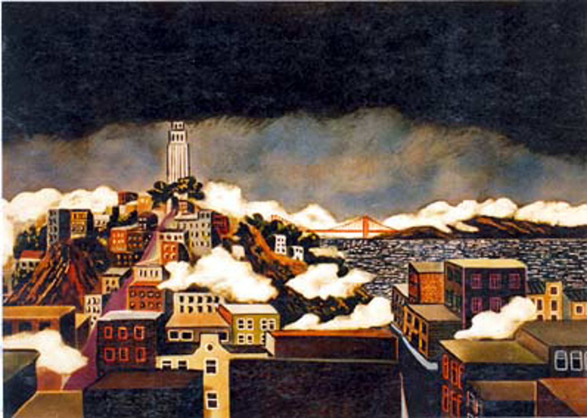 Coit Tower by Guy Buffet