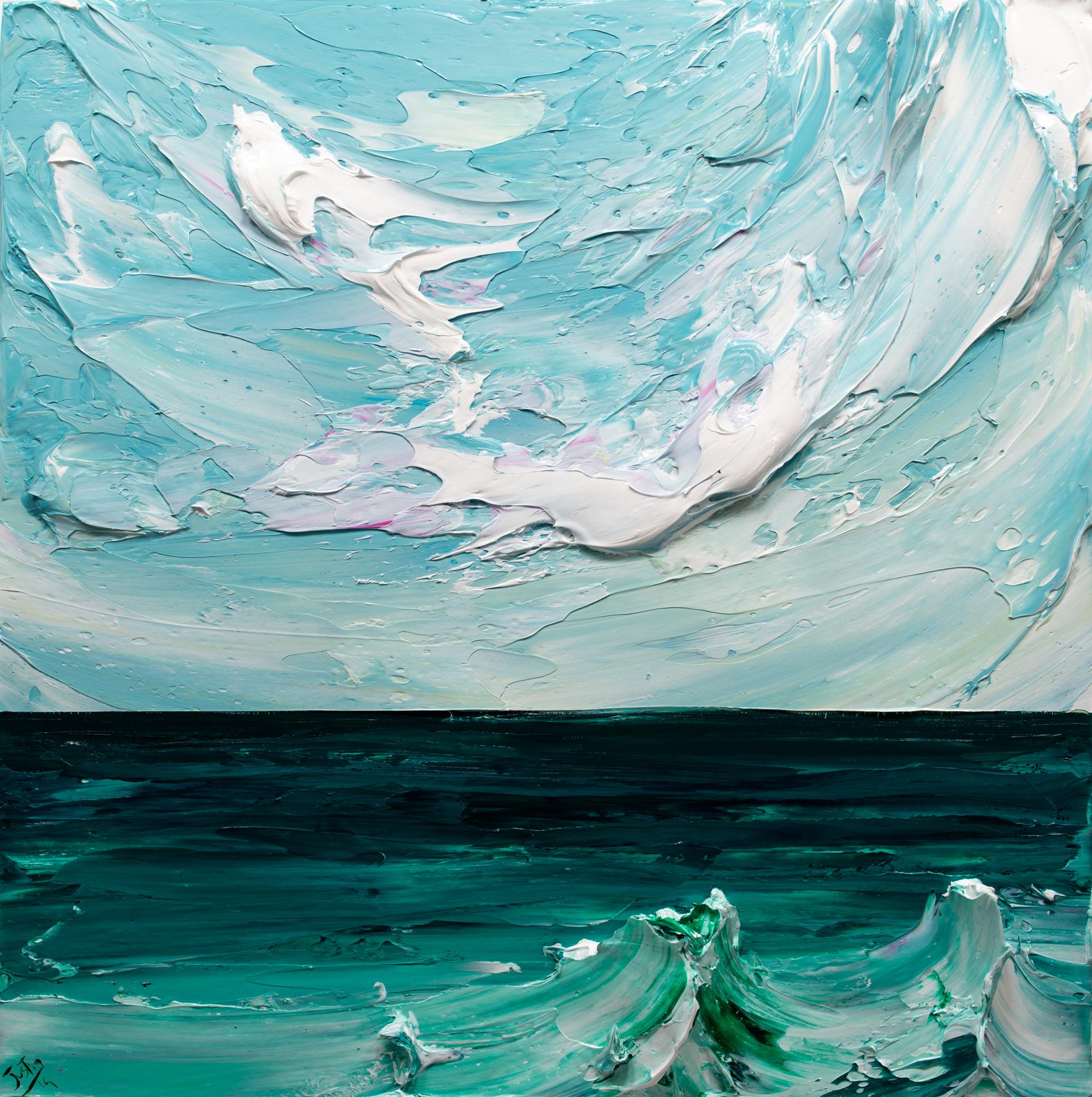 SEASCAPE-SS-30X30-2019-161 by JUSTIN GAFFREY