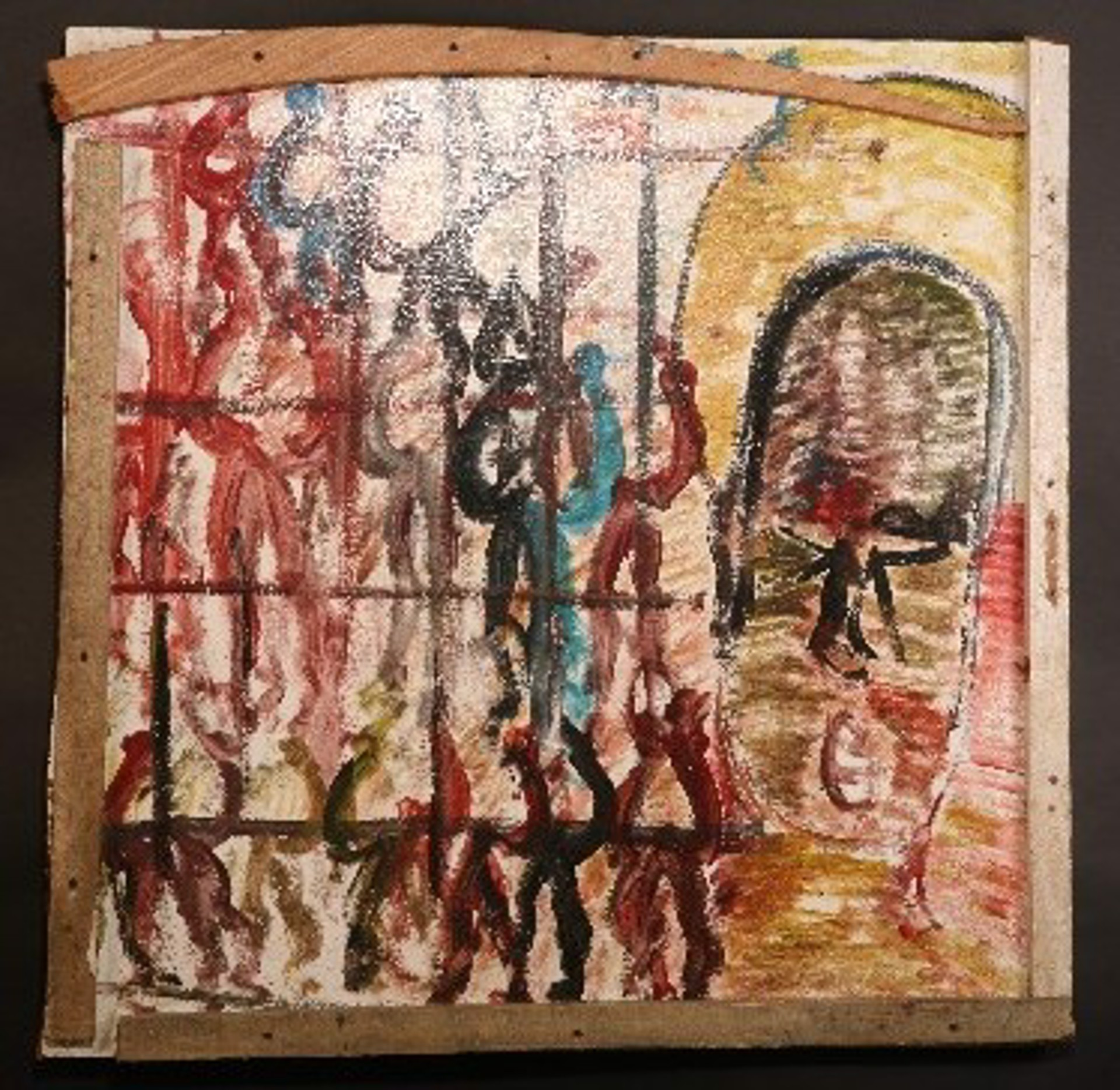 Free Them, Now by Purvis Young (1943 - 2010)