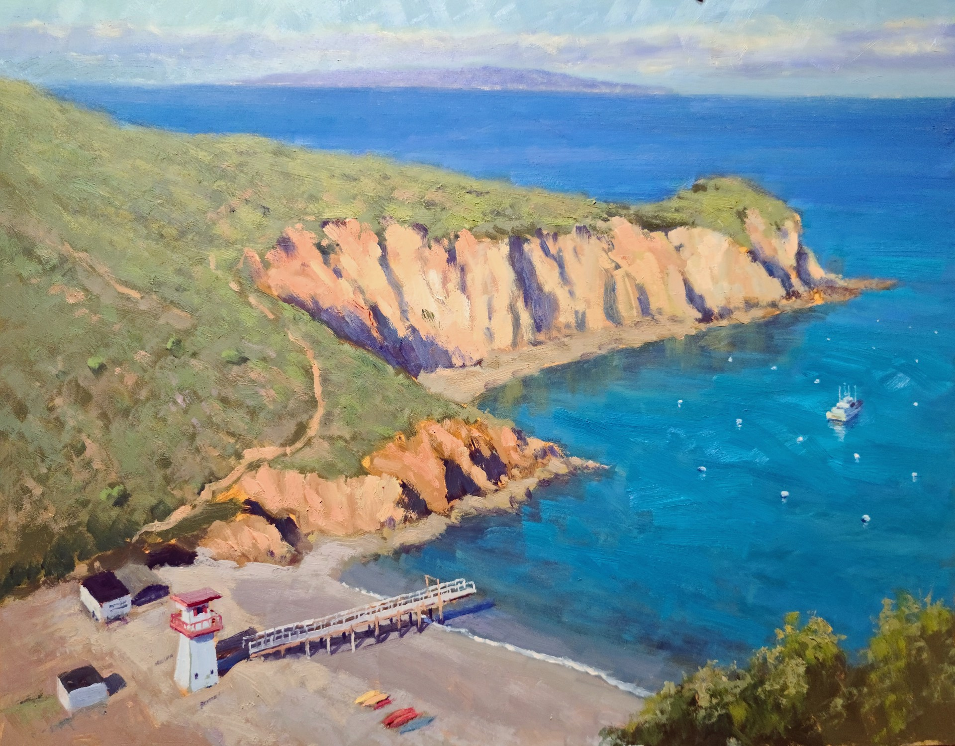 Clear Day, Cherry Cove by Jacobus Baas