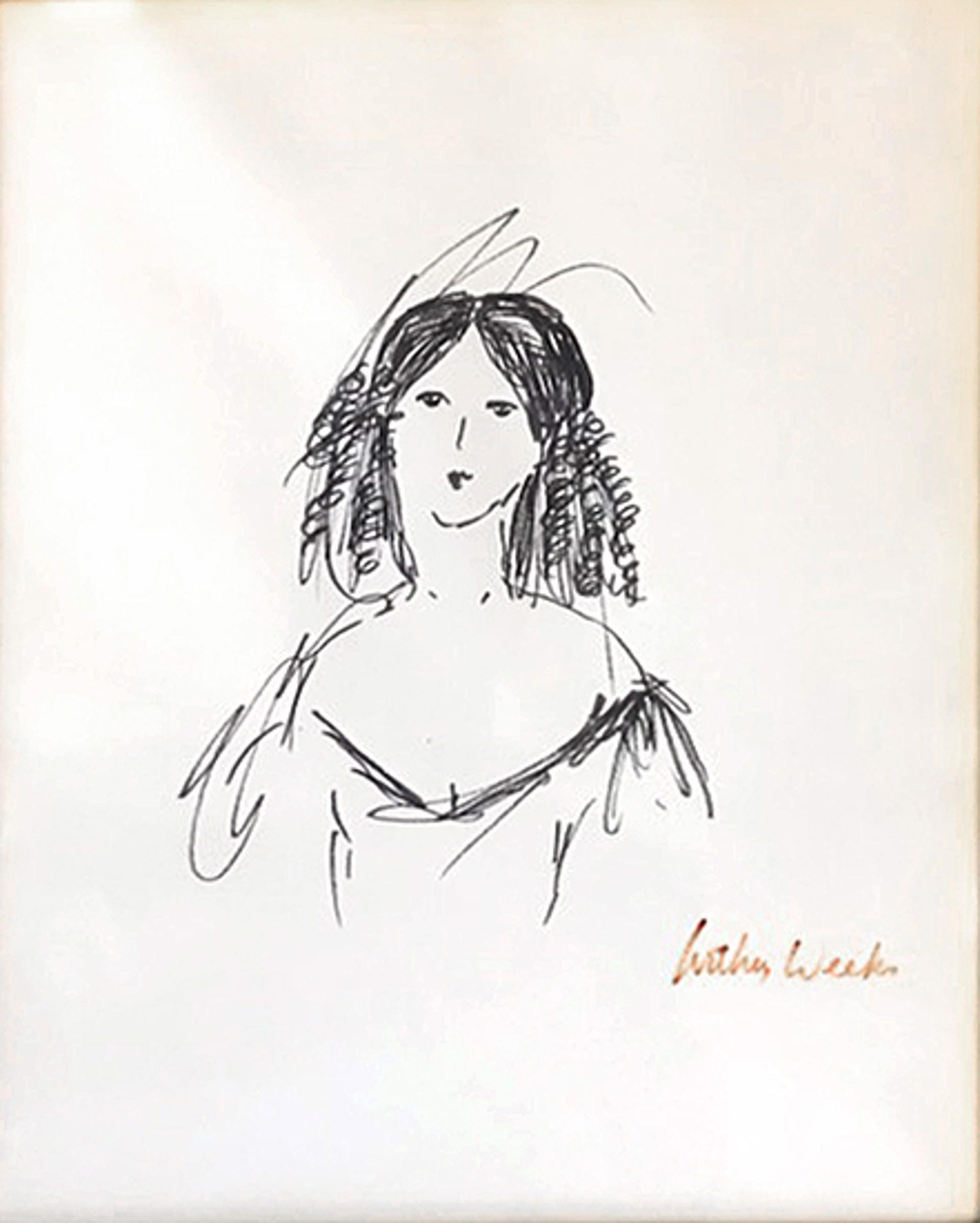 Antebellum Lady by Arthur Weeks