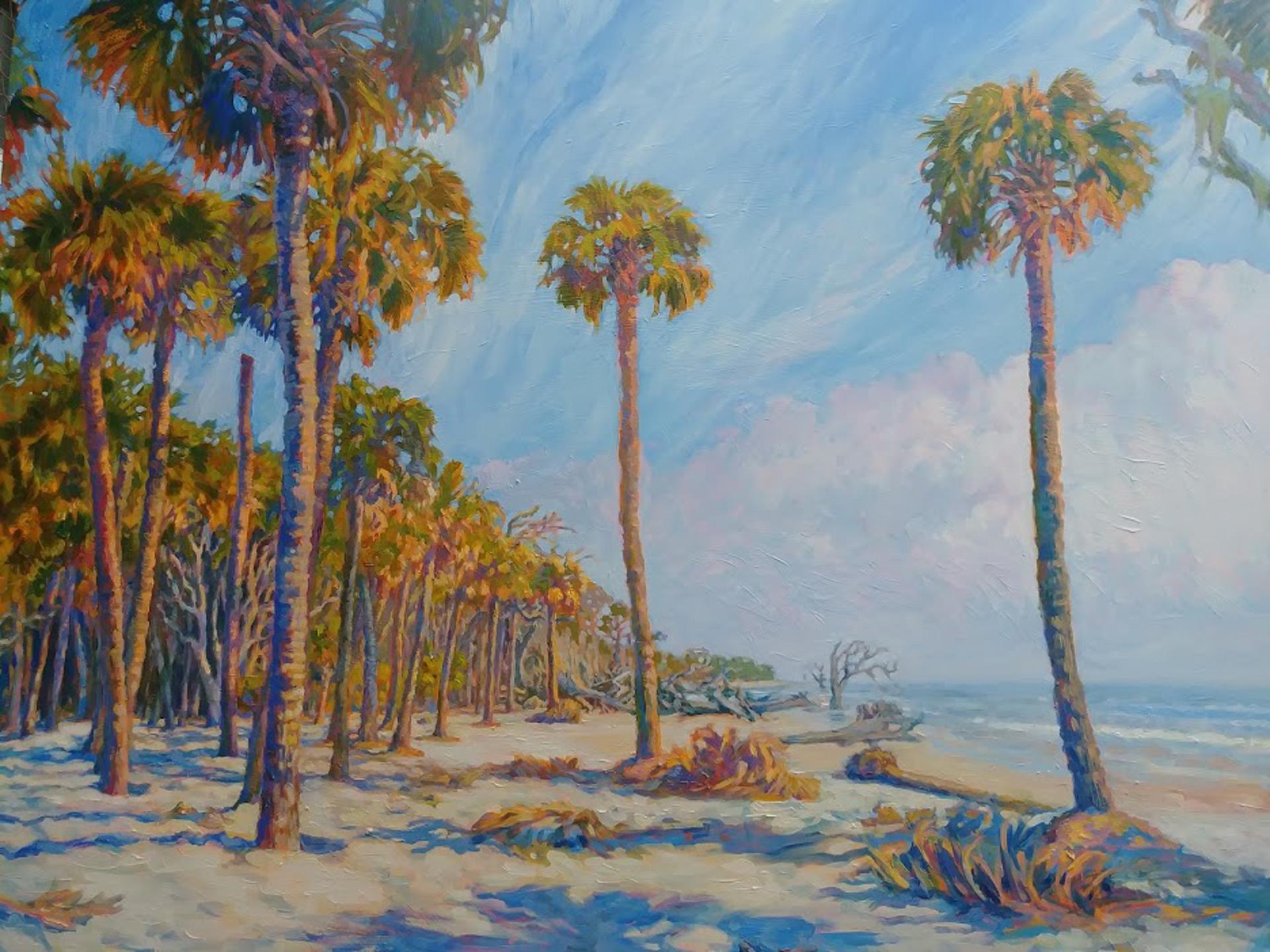 Plethora of Palms by Olessia Maximenko