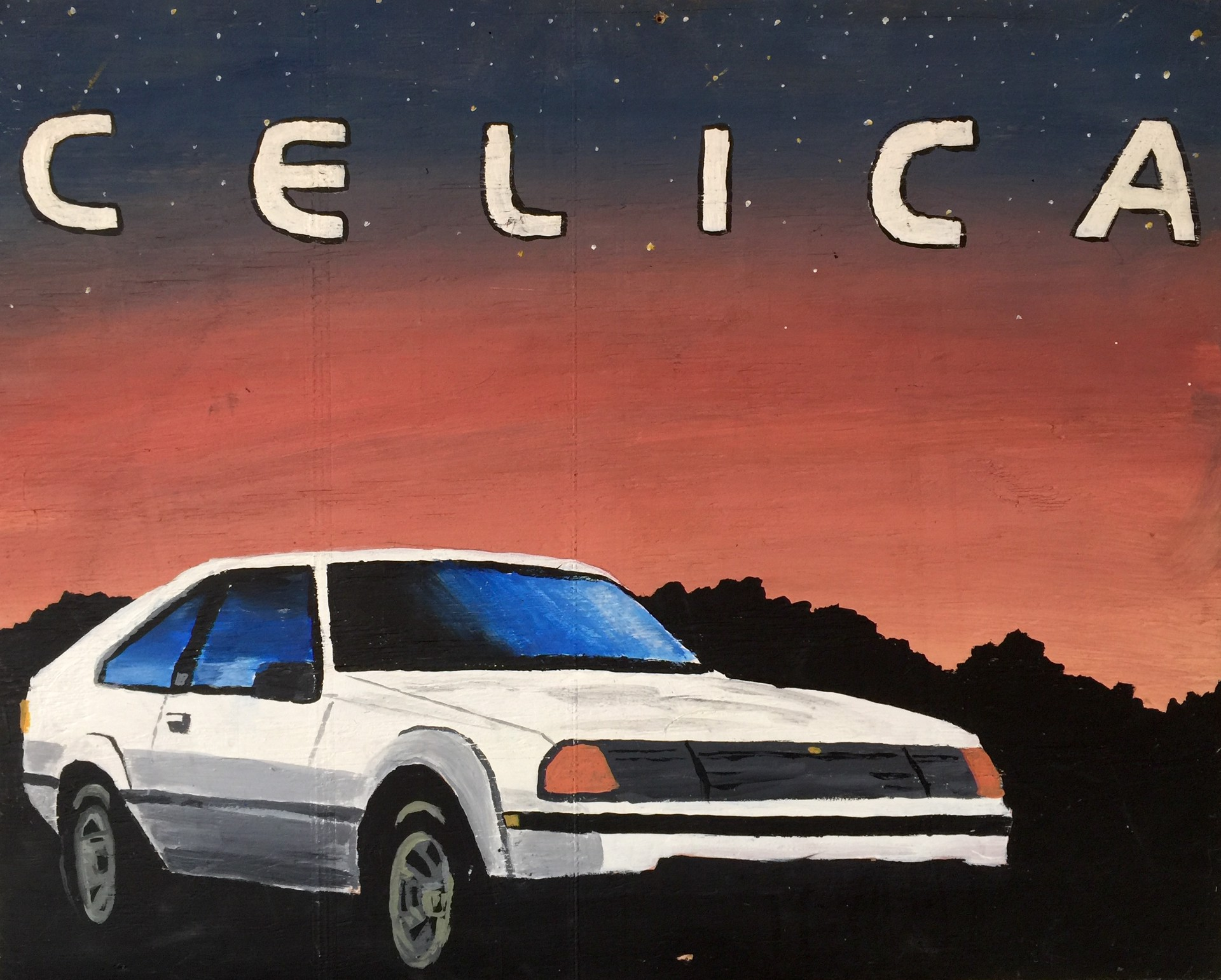 """Celica"" by Dave Huebner by THING ONE THING TWO"