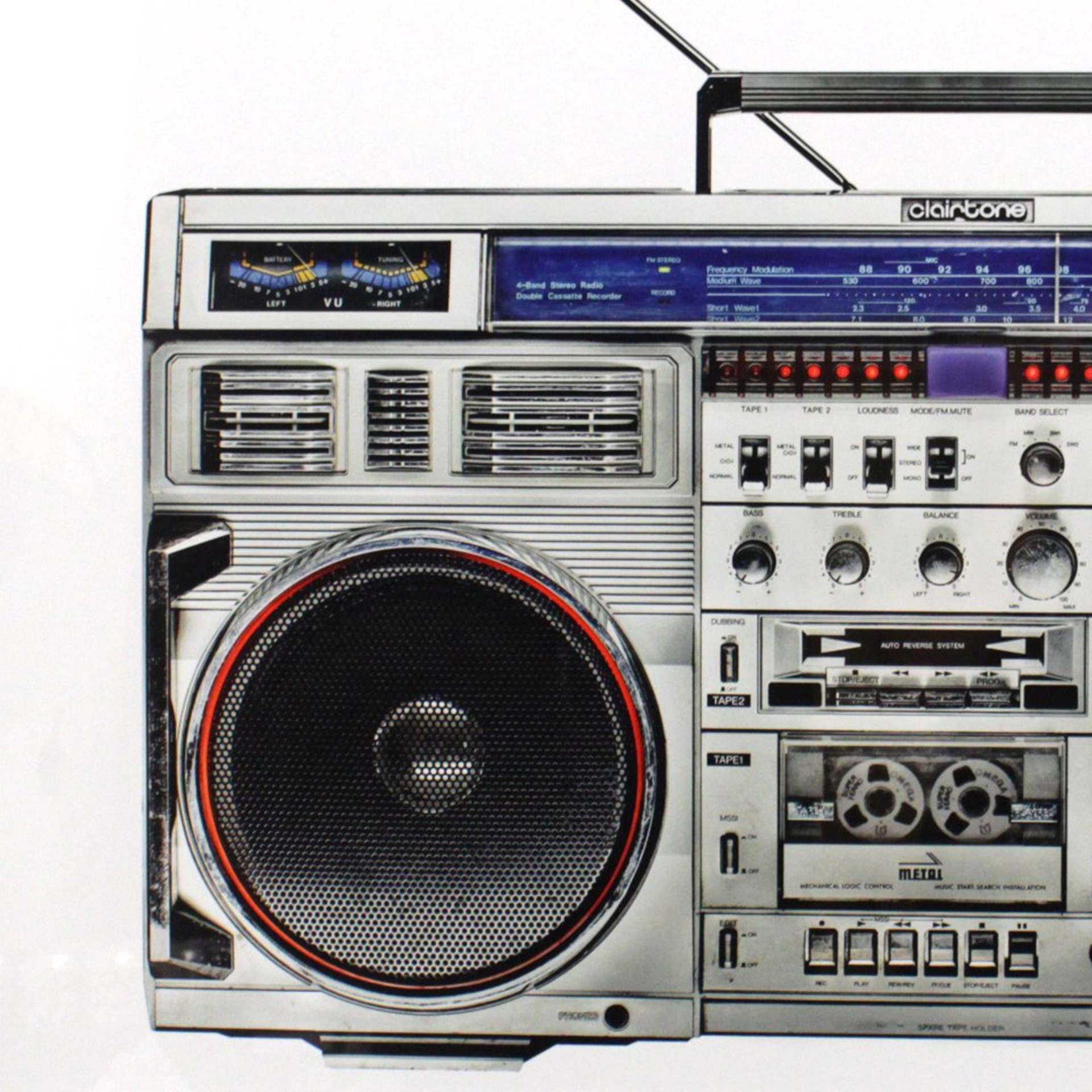 Boombox / 24 by Lyle Owerko