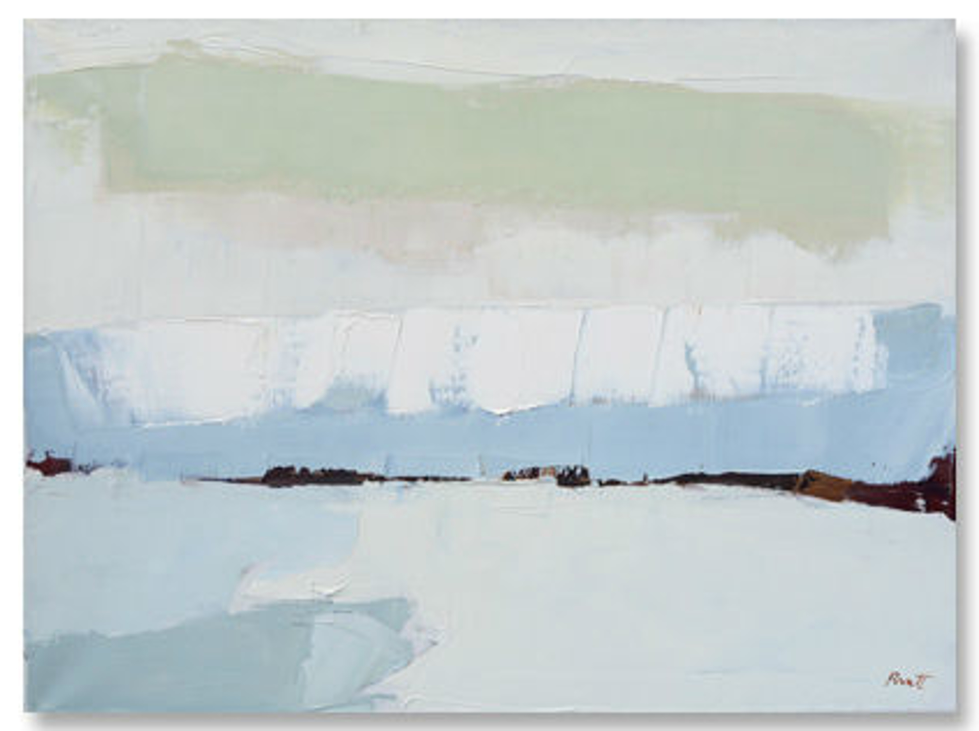 Blue Arrangement by Sandra Pratt
