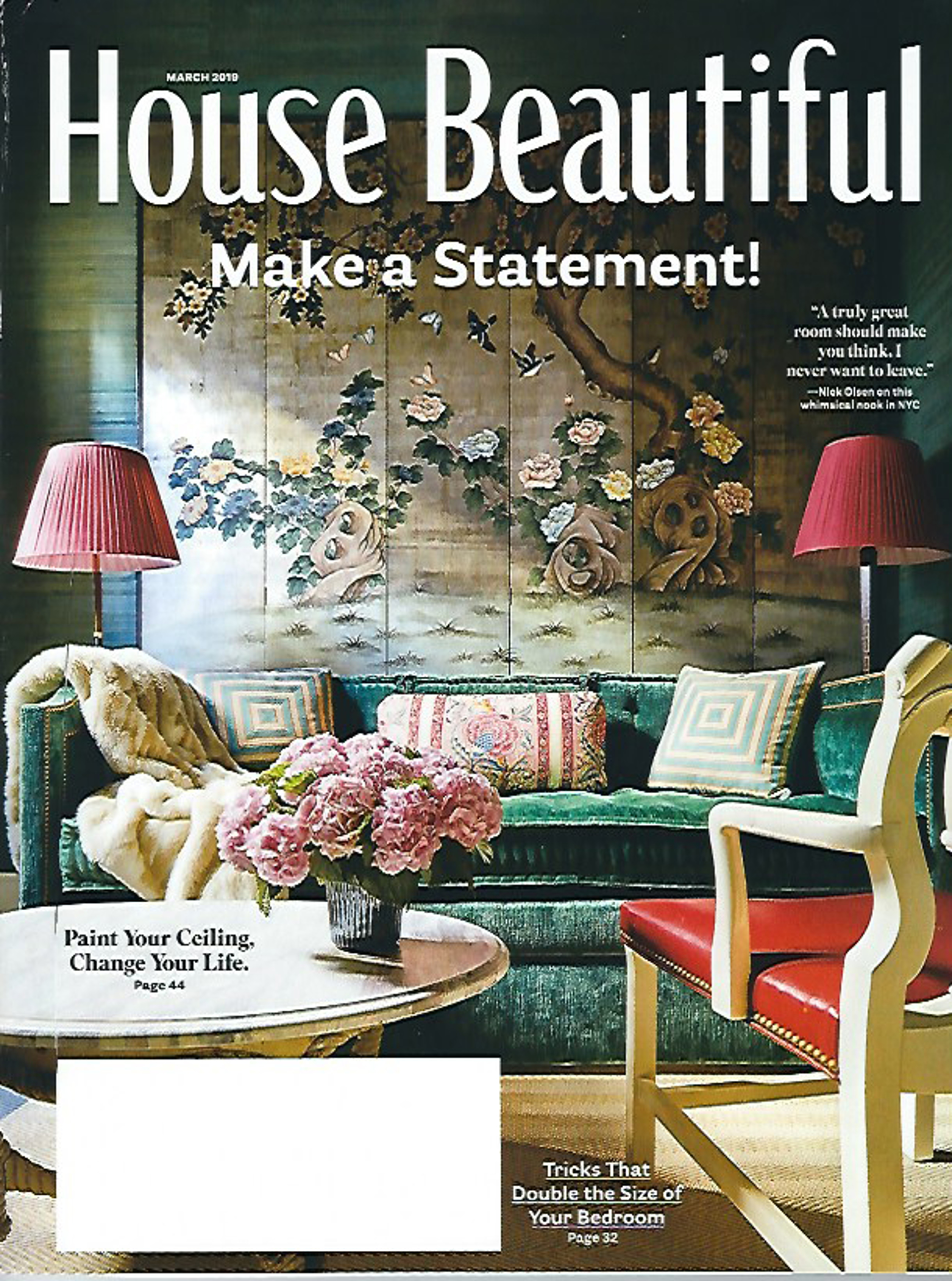 House Beautiful, March 2019 - Jacques Jarrige