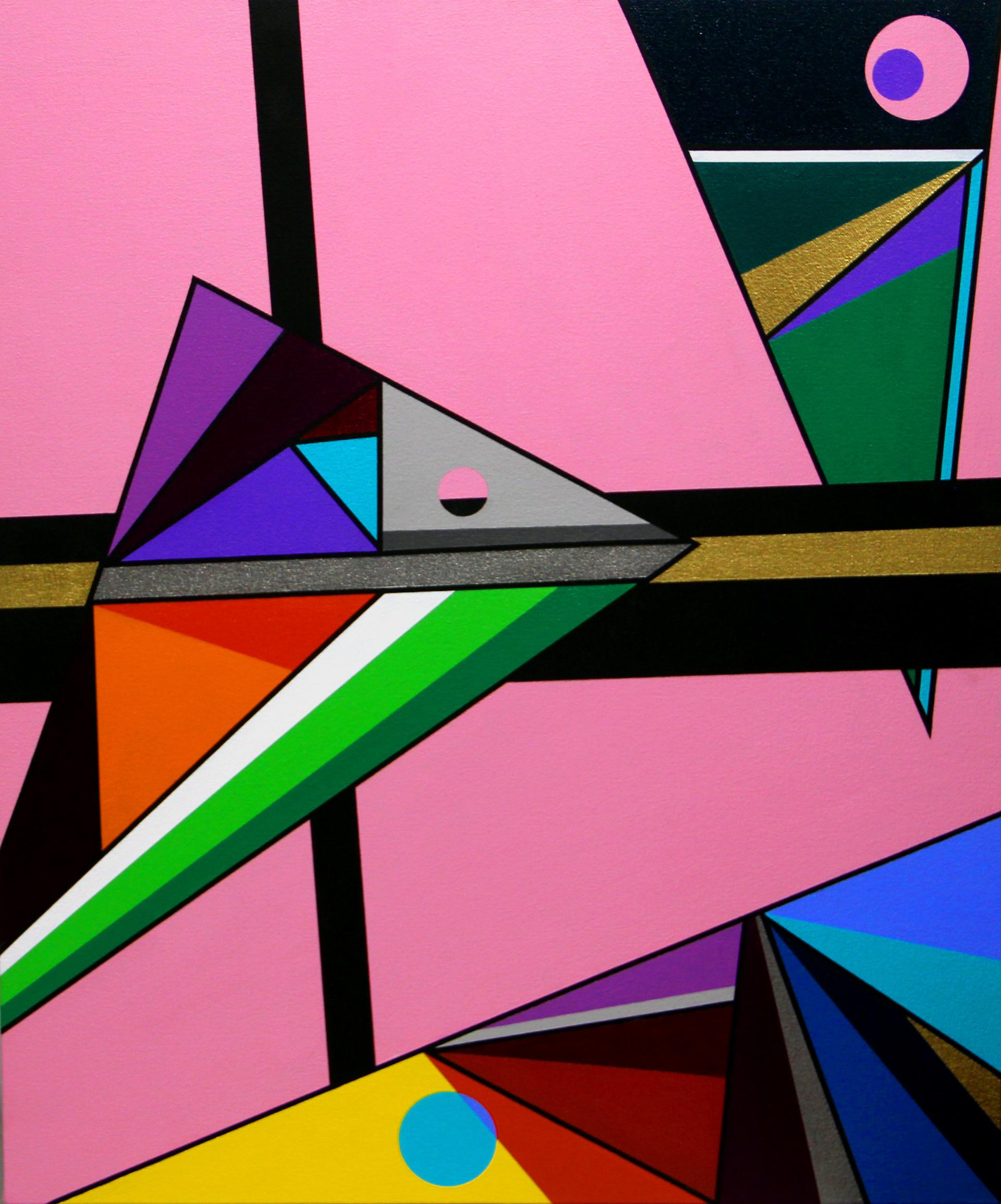 Triangular Displacement by Eric Ockrassa