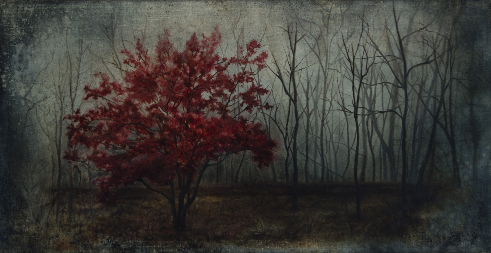 Antemortem Rubrum by Kierstin Young