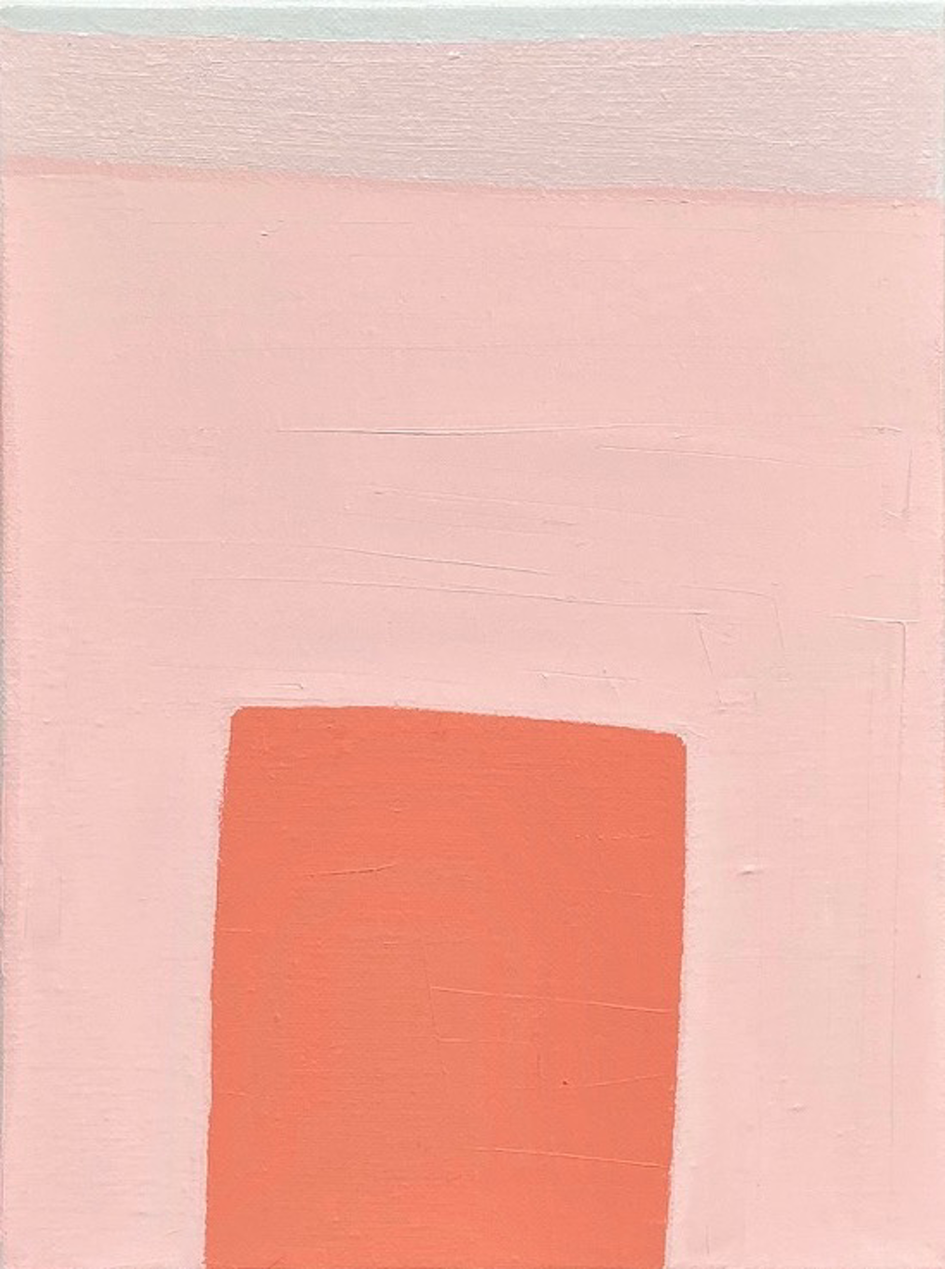 Study with Three Pinks by Laurie Fisher