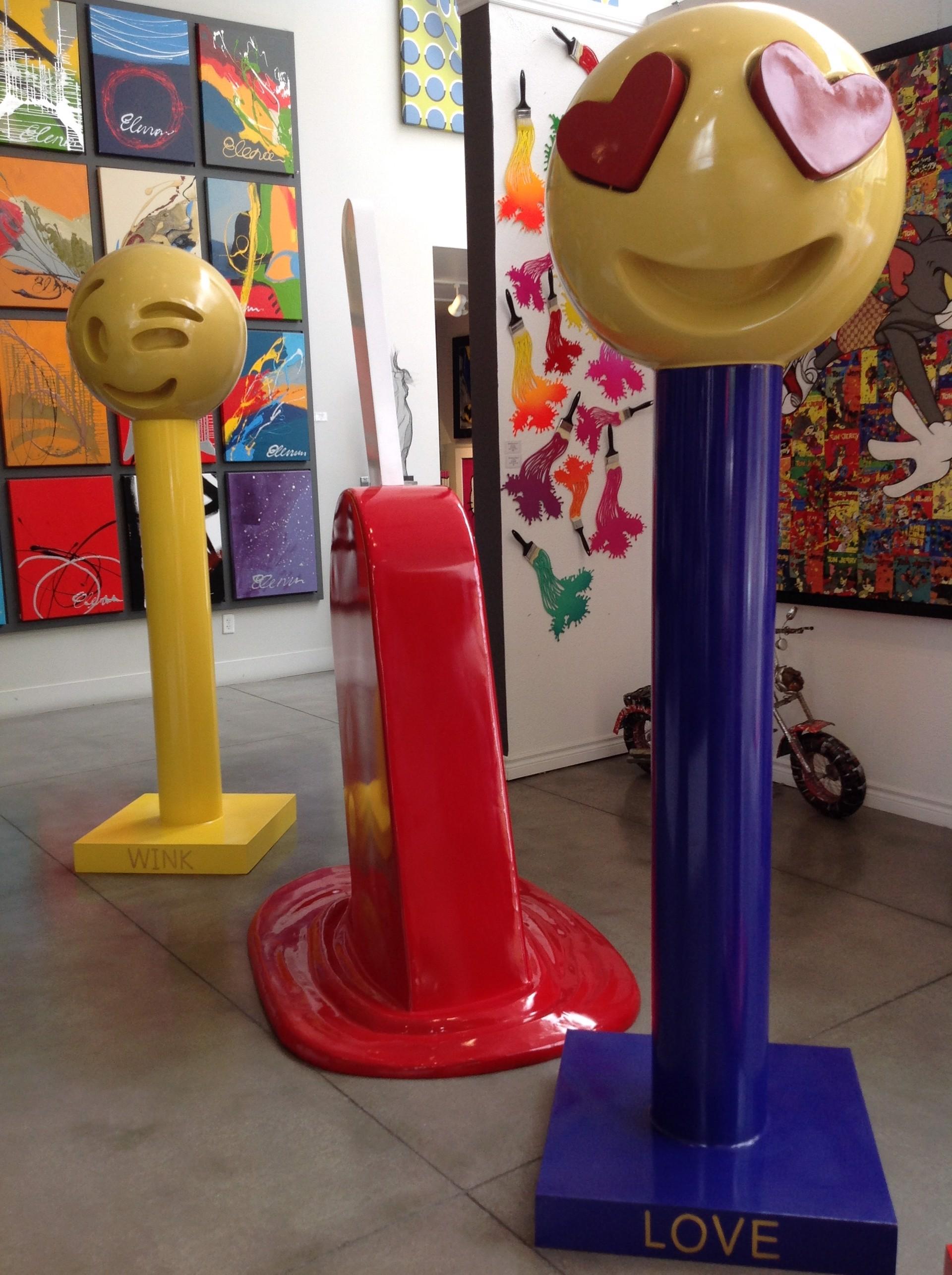 """Emoji Series """"LOVE"""" by Elena Bulatova"""