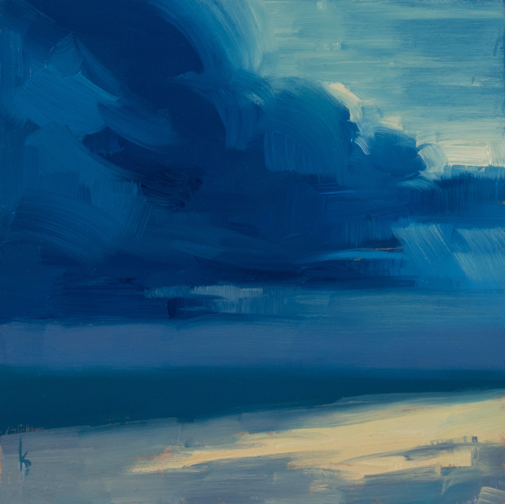 Storm on the Sea by Kirsten Savage