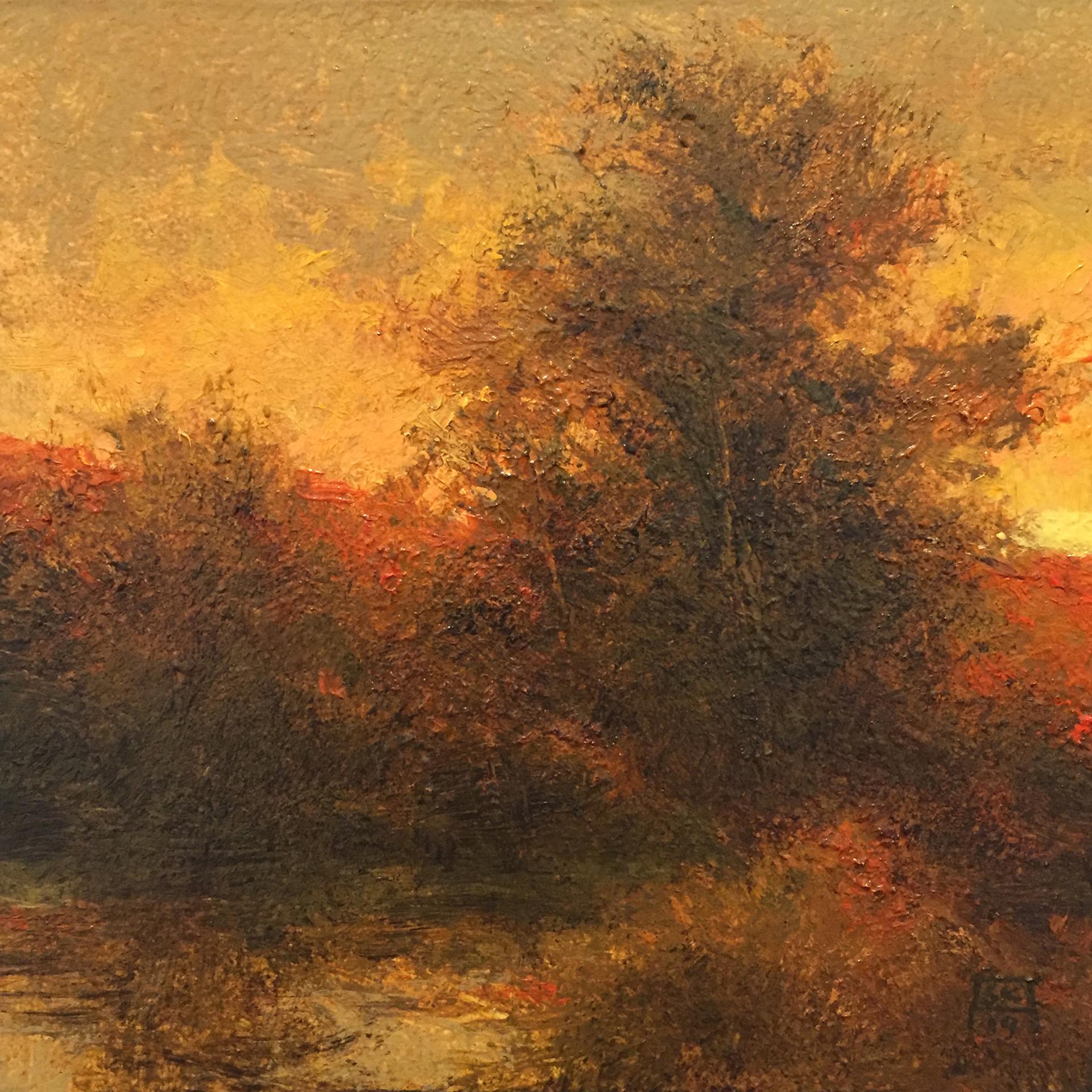 Evening (Ode to A. Hoeber) by Shawn Krueger