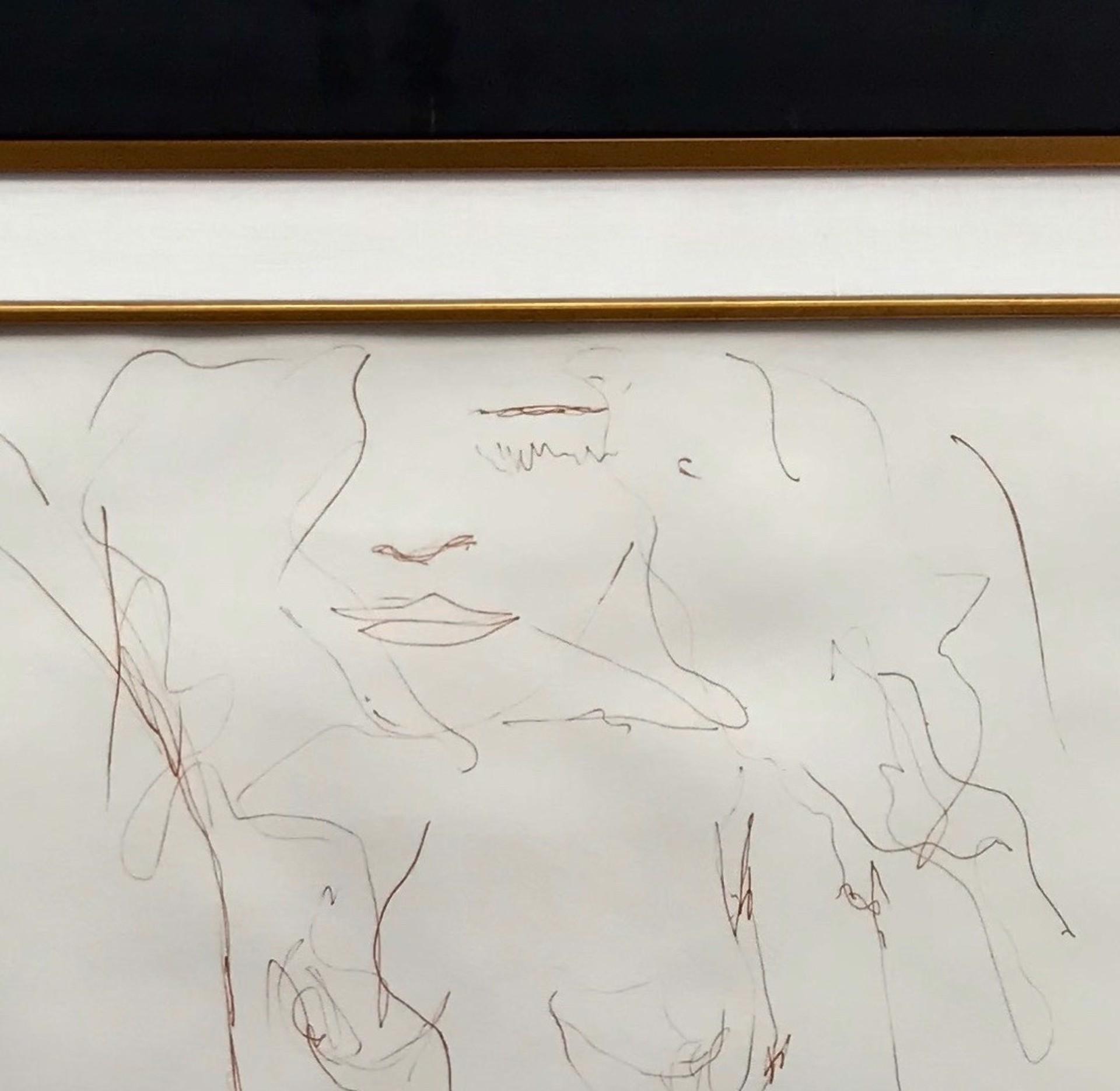 """Erotic #7""  From The ""Bag One"" Portfolio by John Lennon"