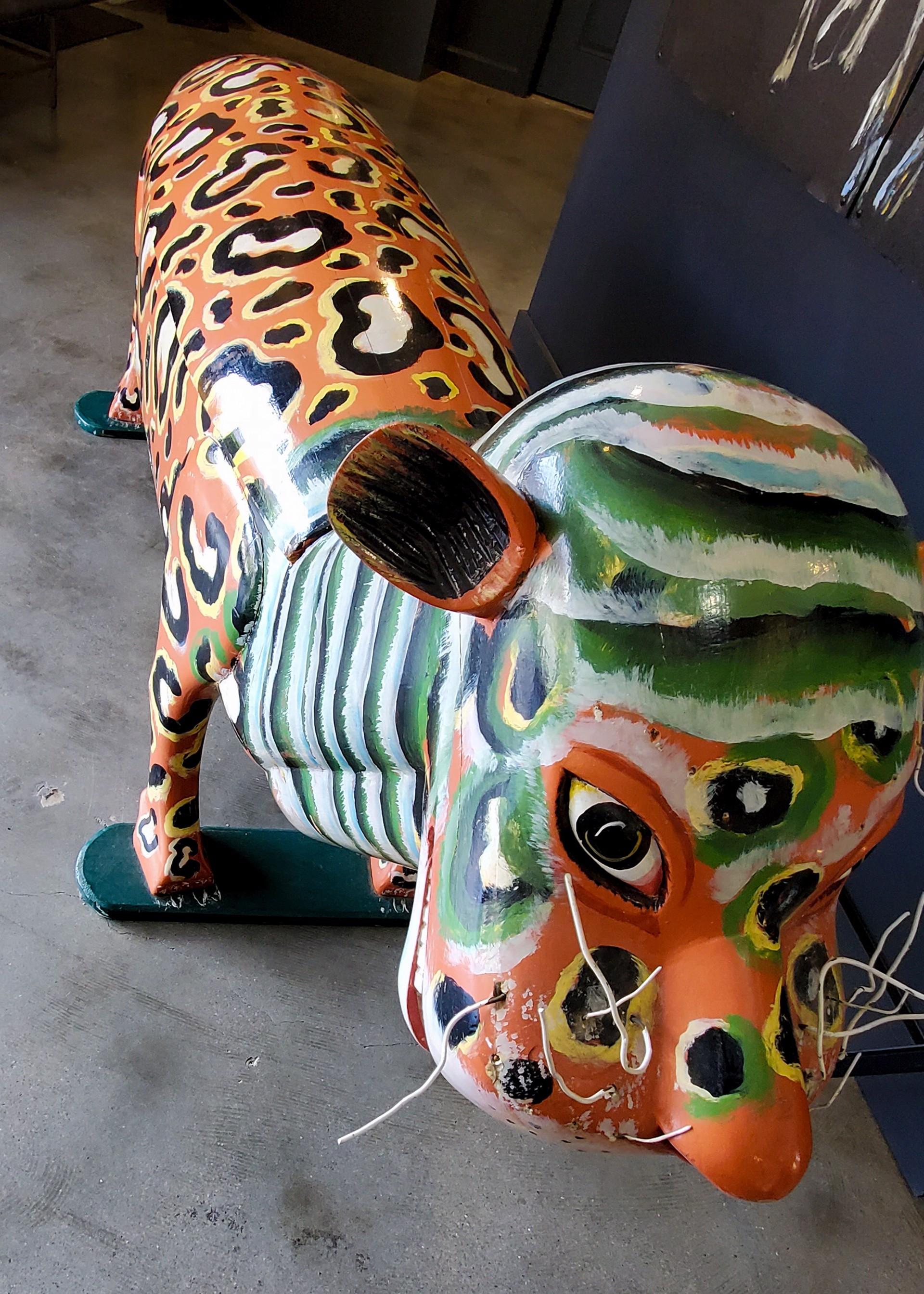 Tiger - Coffin by Paa Joe