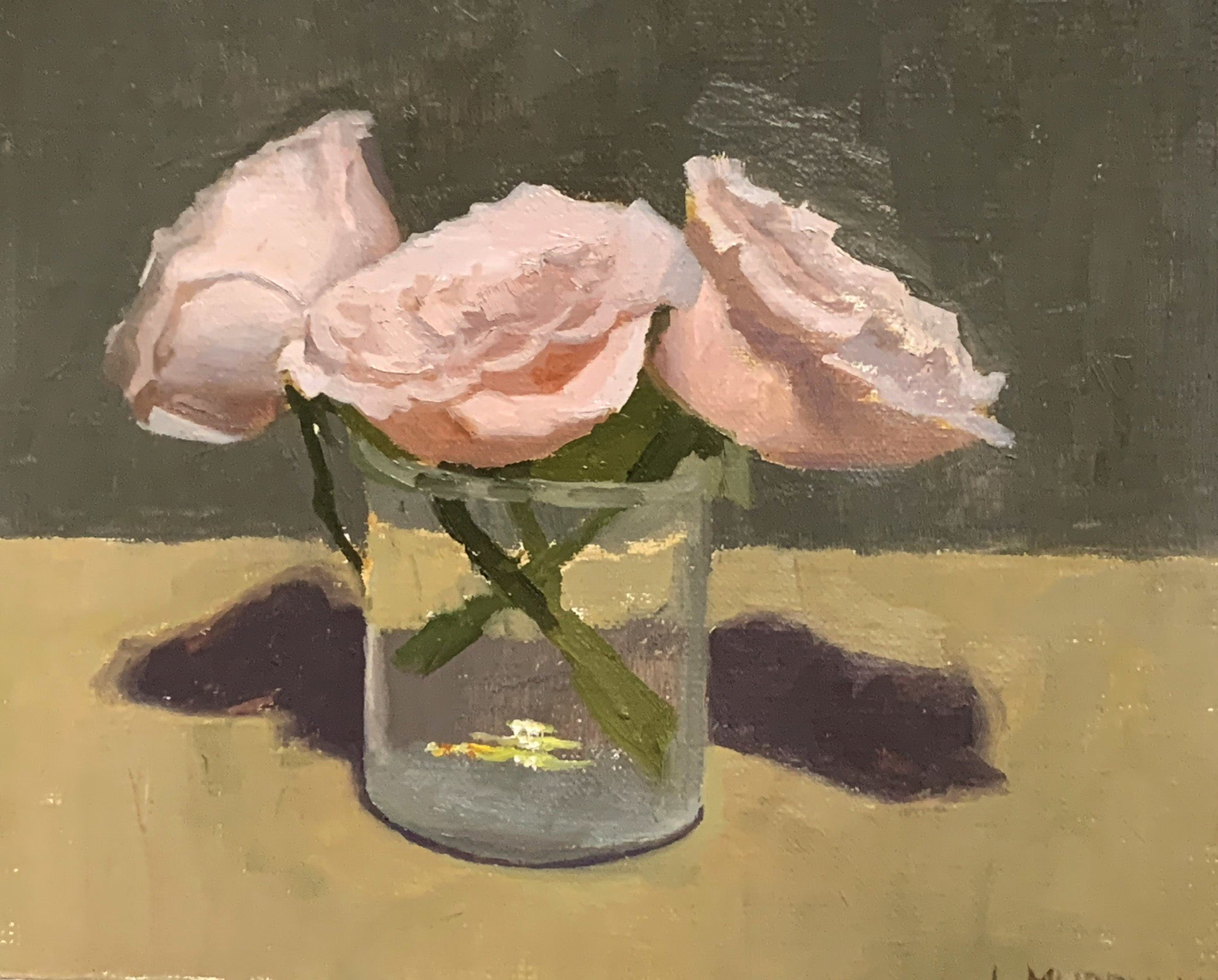 Pink Roses by Laura Murphey