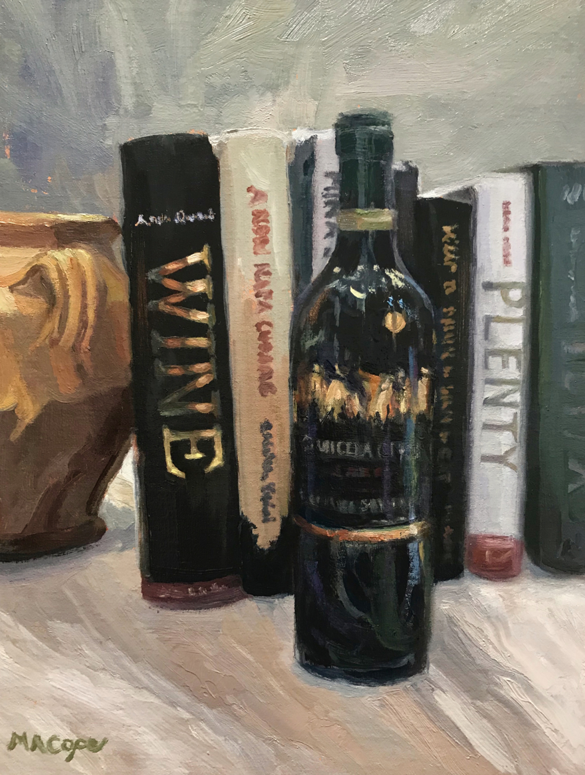 Wine Plenty by Mary Ann Cope
