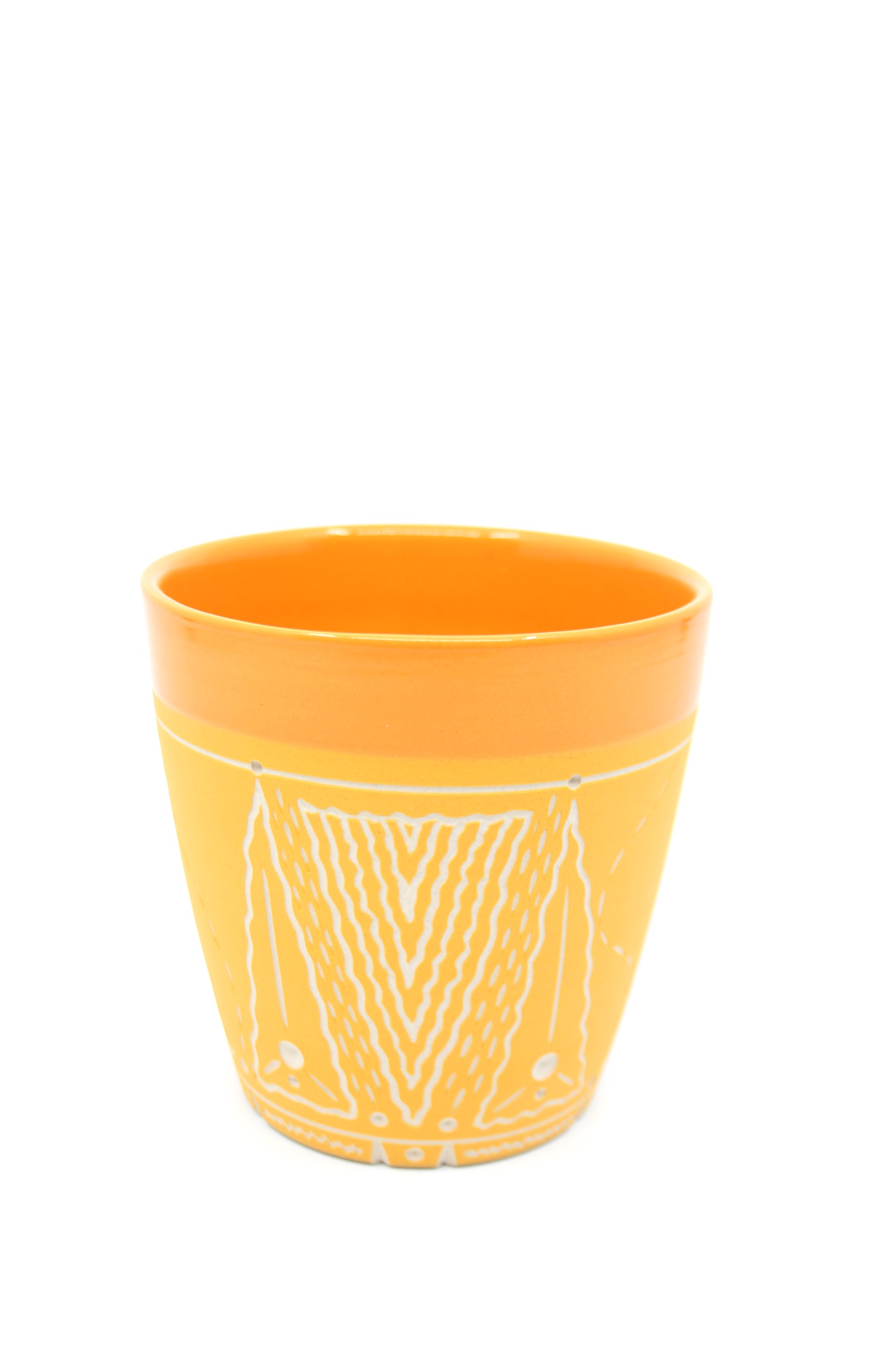 Orange/Tangerine Cup by Chris Casey