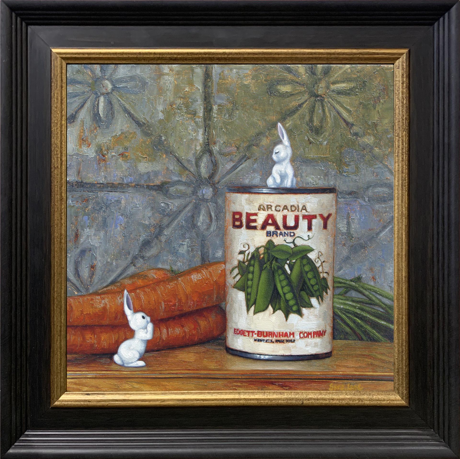 Sweet Peas and Carrots  by Sara Jane Doberstein