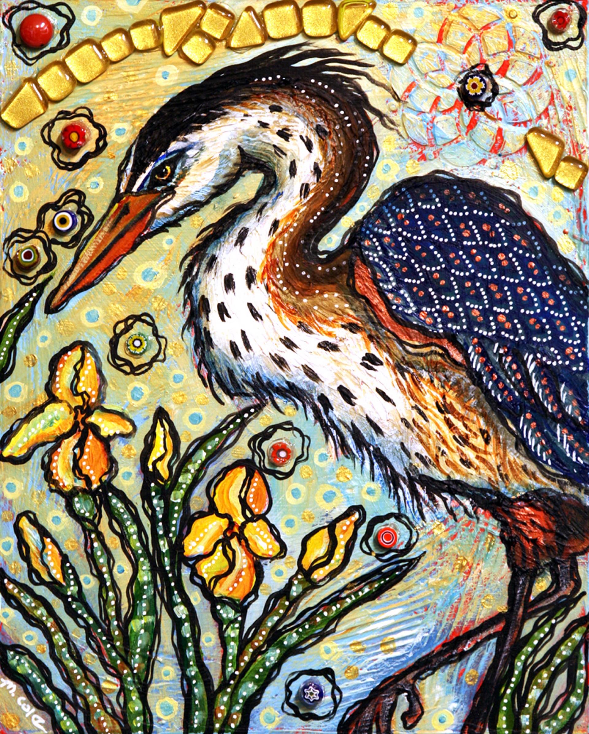Golden Garden by Melissa Cole