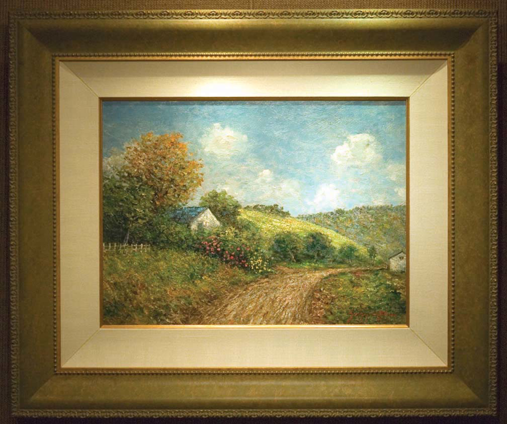 Scotts Valley Country Lane by James Scoppettone