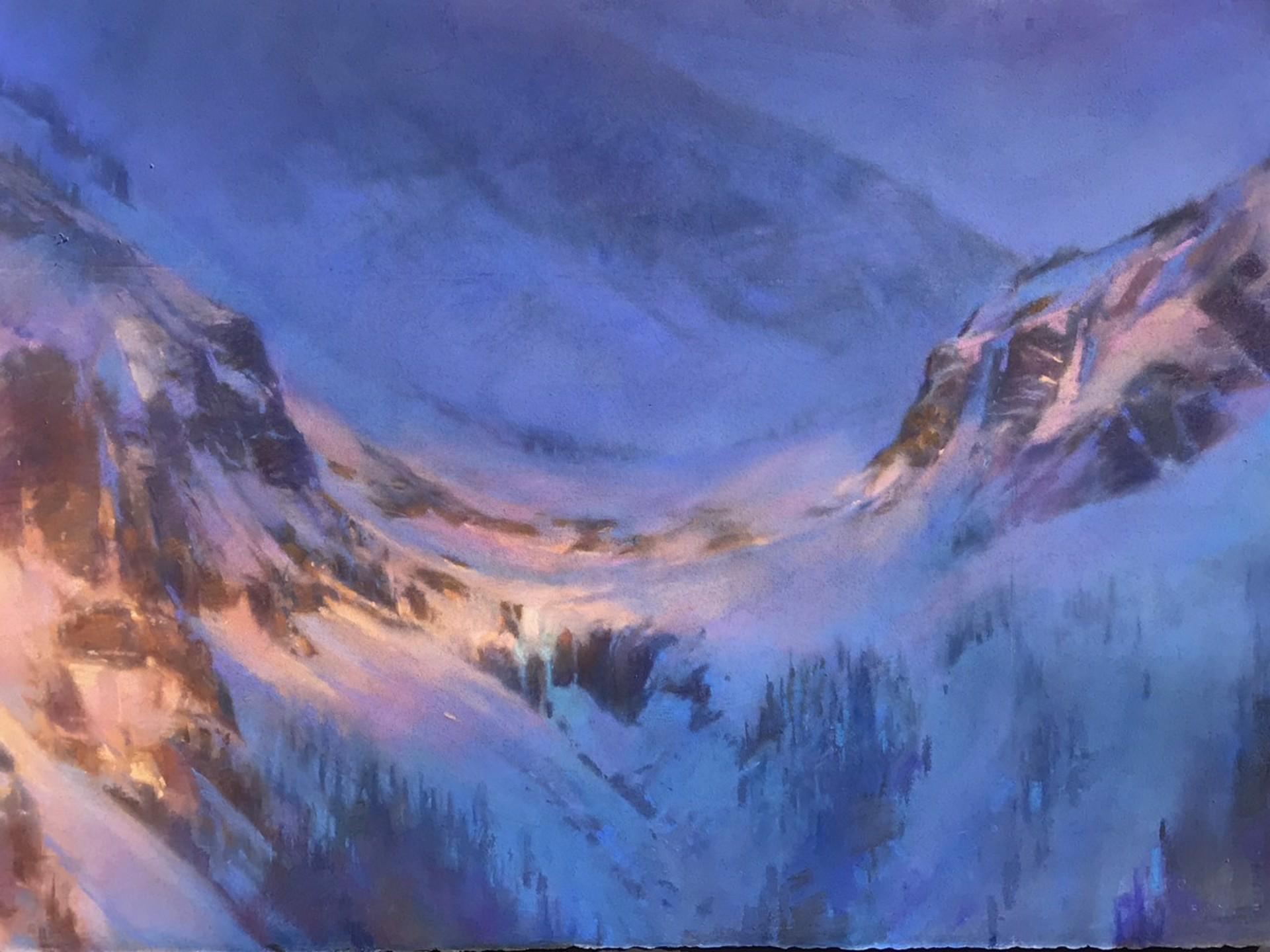 Telluride Peak After Storm by Bruce A Gómez