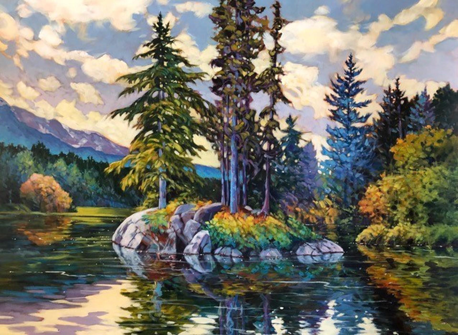 Alta Lake Isle by JANICE ROBERTSON