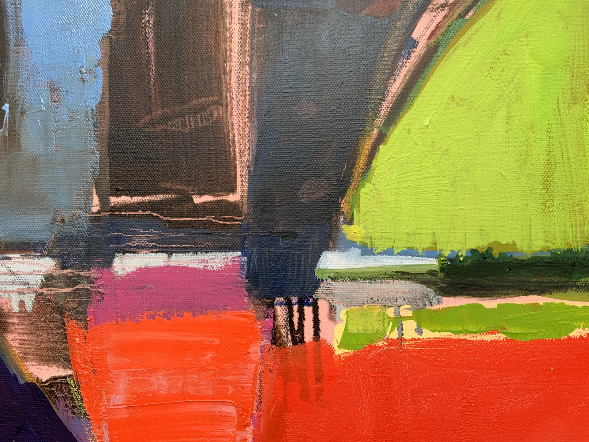 Abstract Landscape from the Air IV AA by Steven Page Prewitt