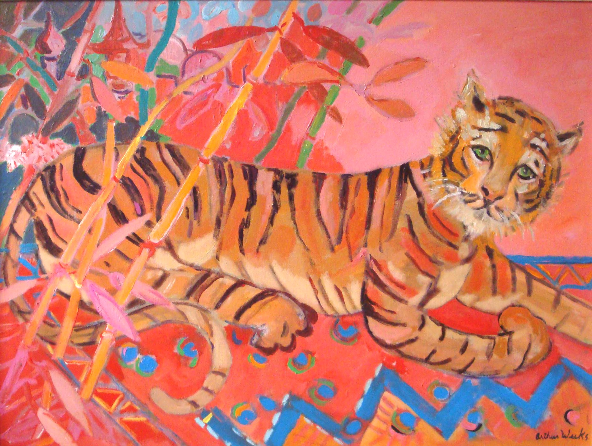 Temple Tiger by Arthur Weeks