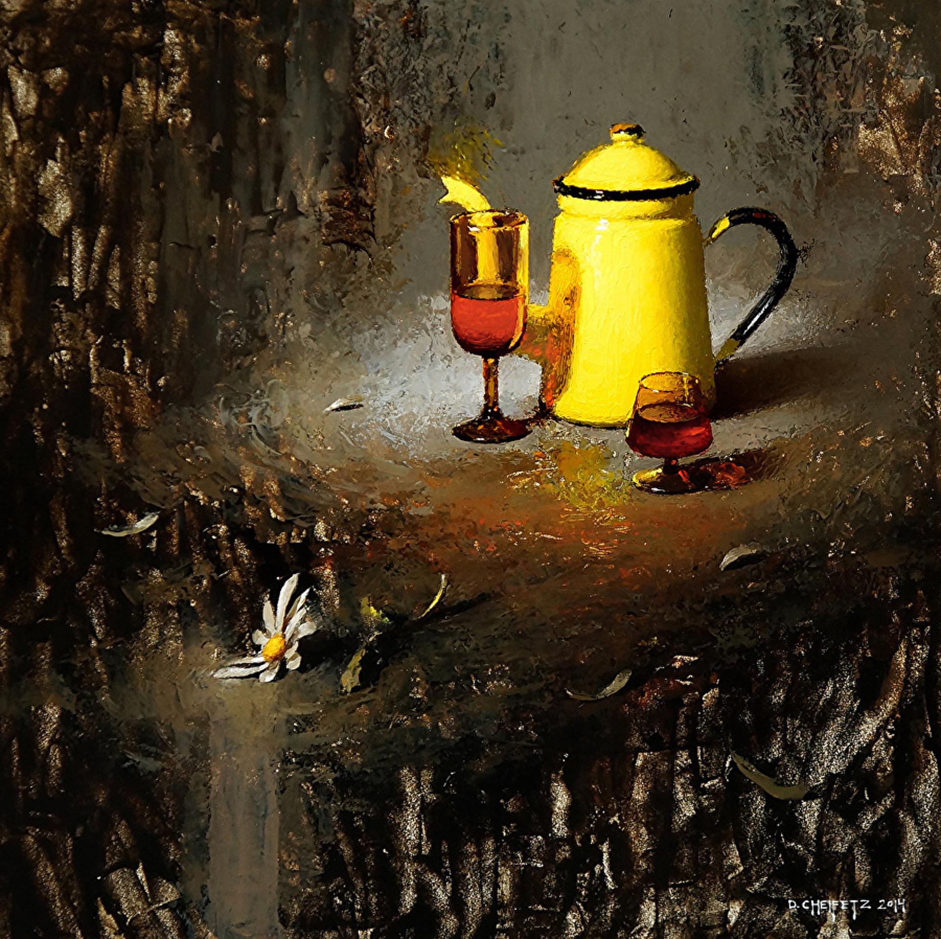 Sun Tea in Darkness by David Cheifetz
