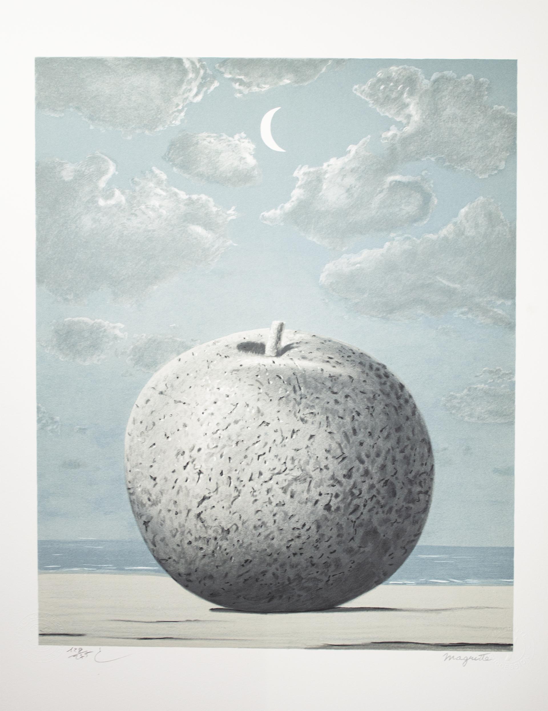 Souvenir de voyage (Memory of a Journey) by Rene Magritte