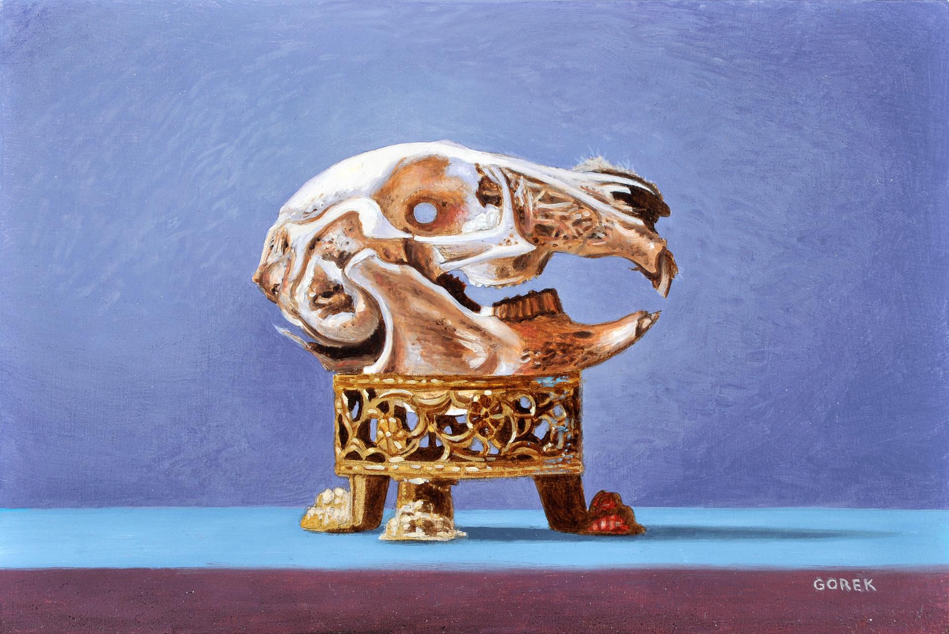 Rabbit Skull by Thane Gorek