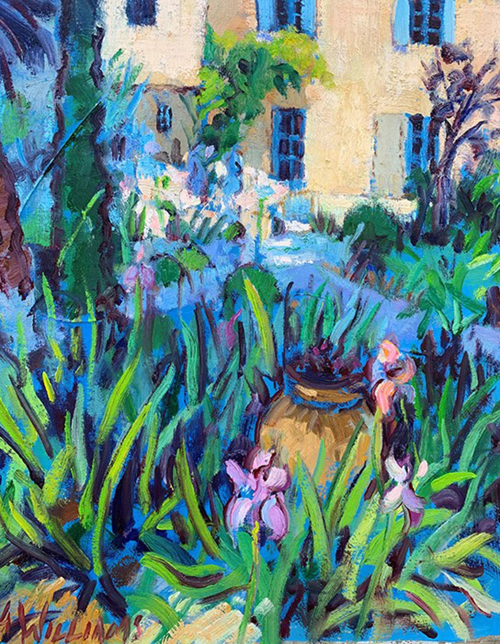 Our Garden from the Cottage by Alice Williams
