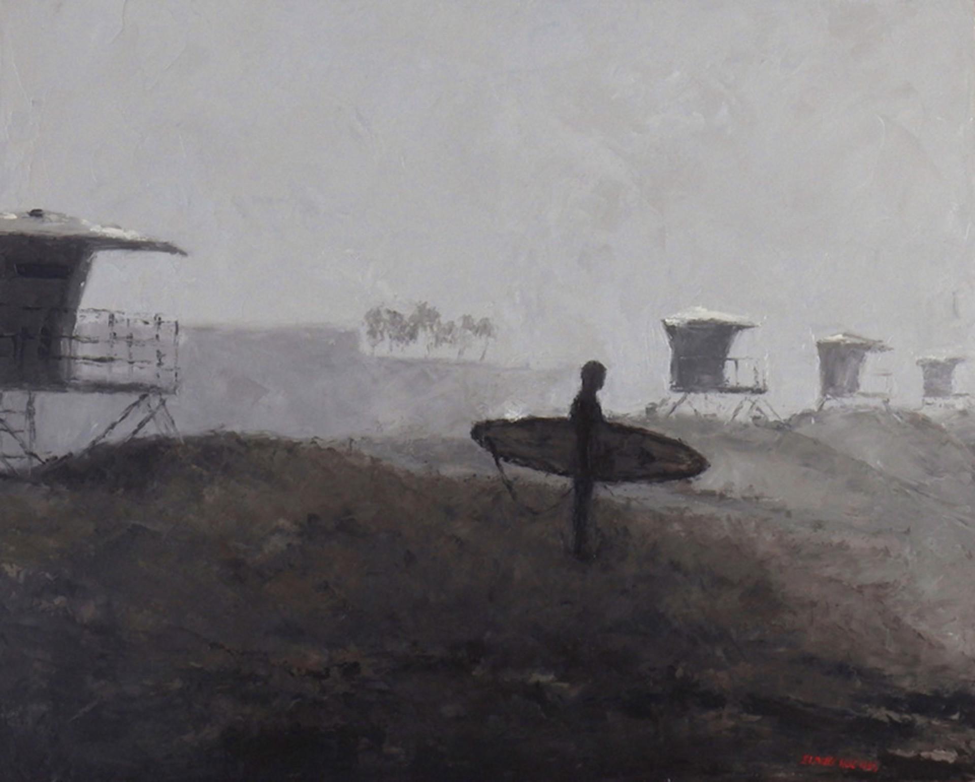 Huntington Fog by Elaine Hughes