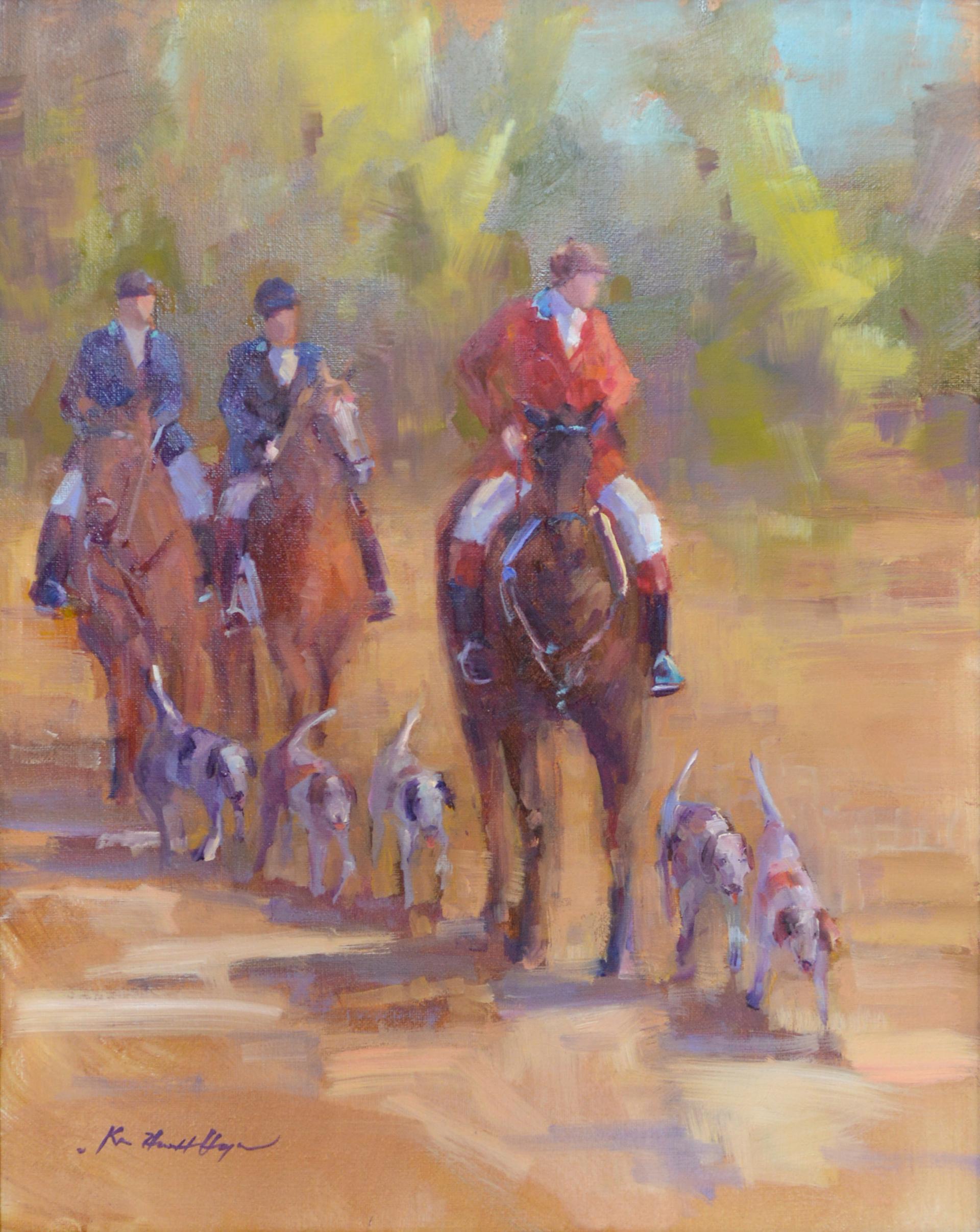 Fox Hunters by Karen Hewitt Hagan