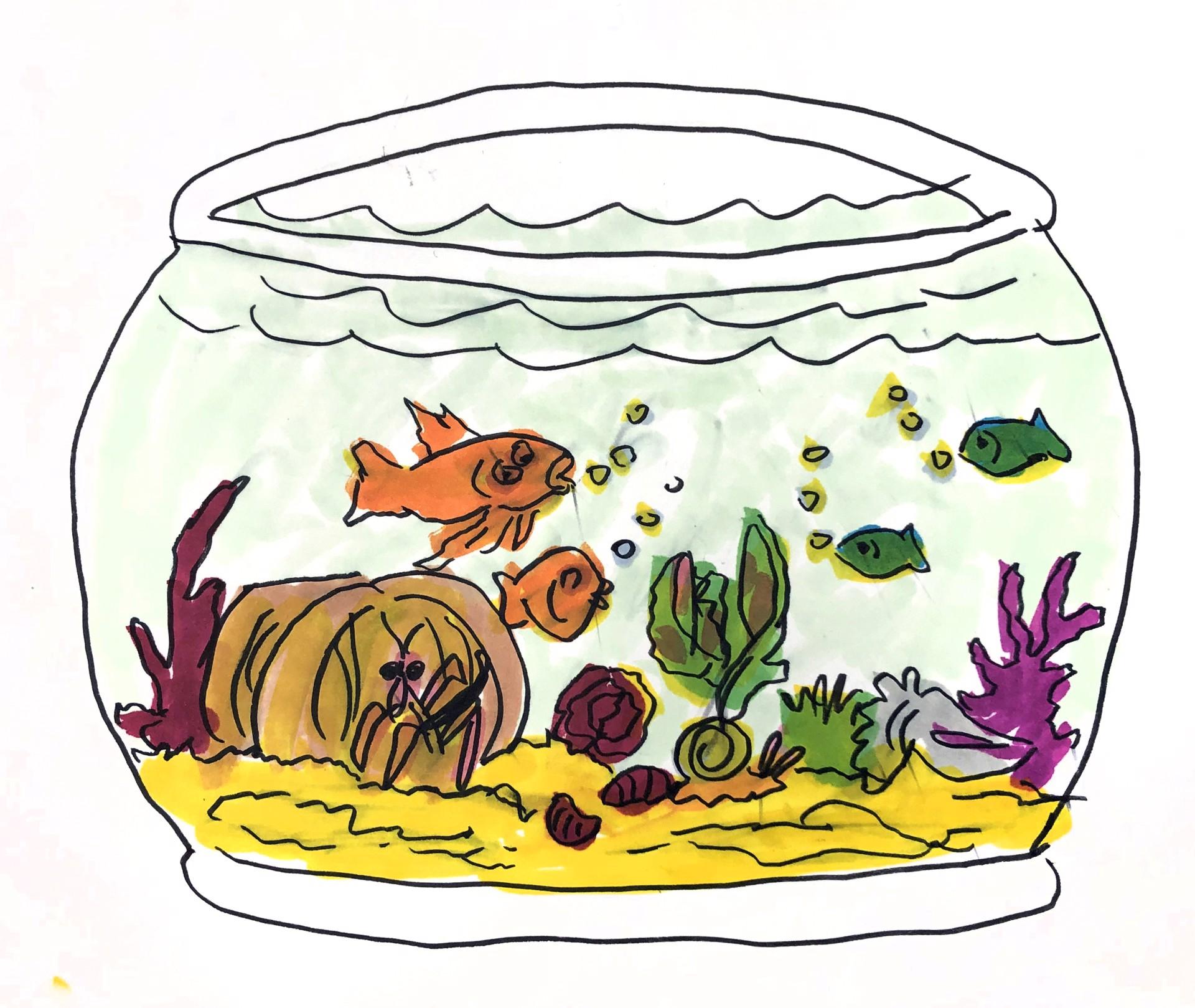 Fishbowl by Nonja Tiller