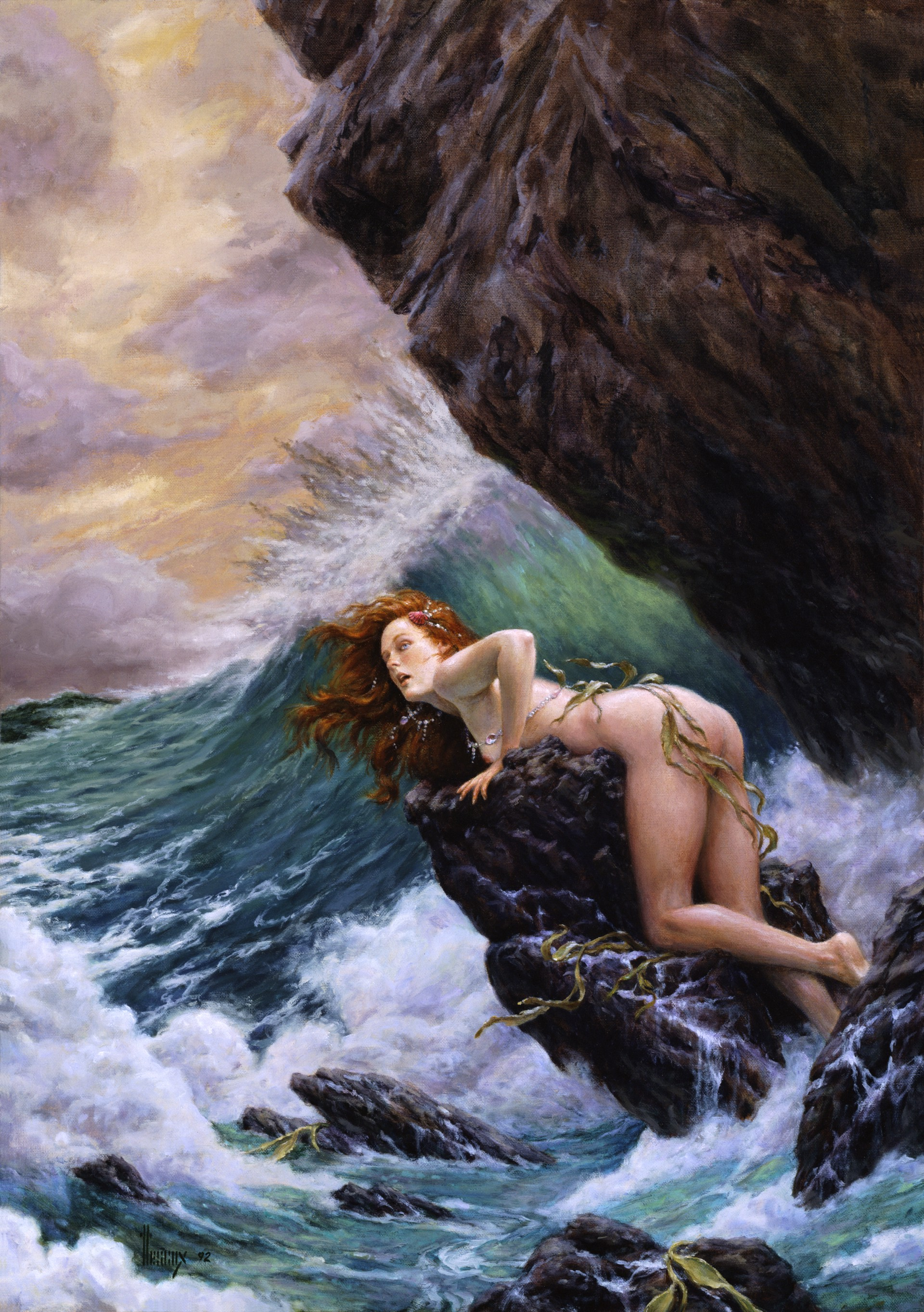Song of the Siren by Richard Hescox
