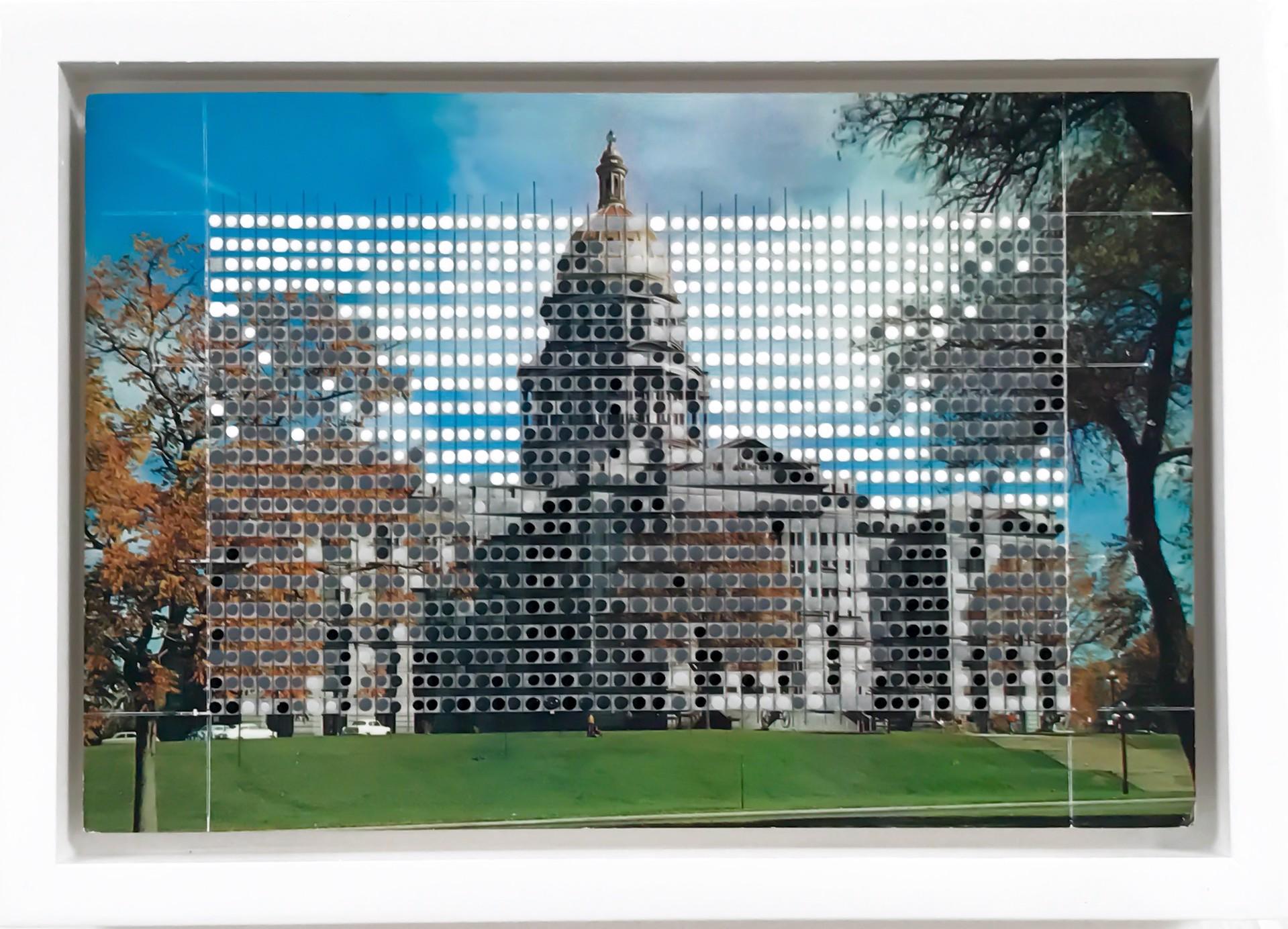 Borrowed Landscapes Study No.62/CO, Denver Capital Building by Nina Tichava